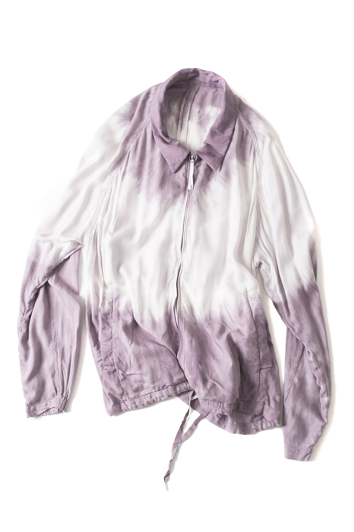 bukht : New Drop Collar Blouson (Lilac)
