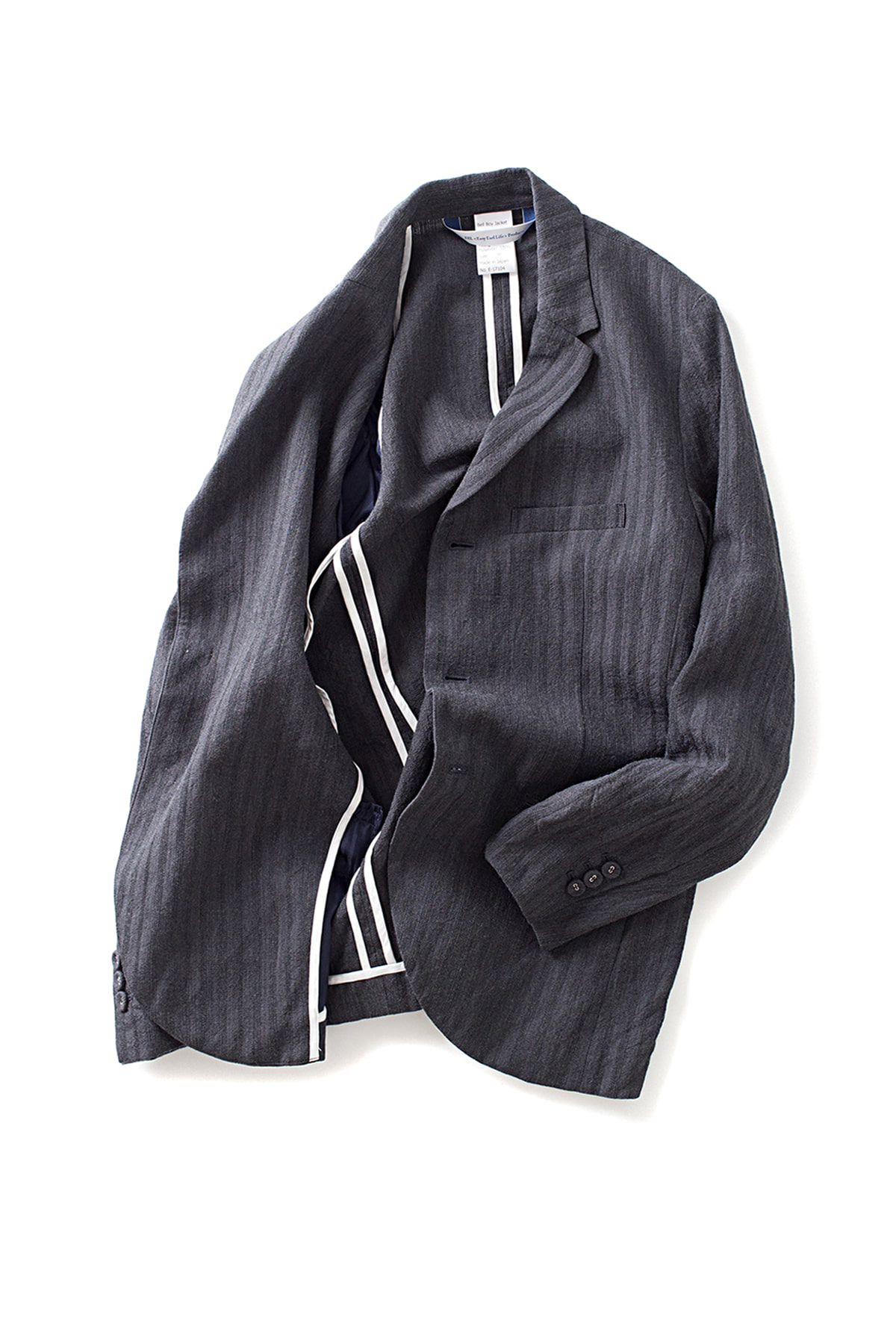 EEL : Bellboy Jacket (Charcoal Stripe)