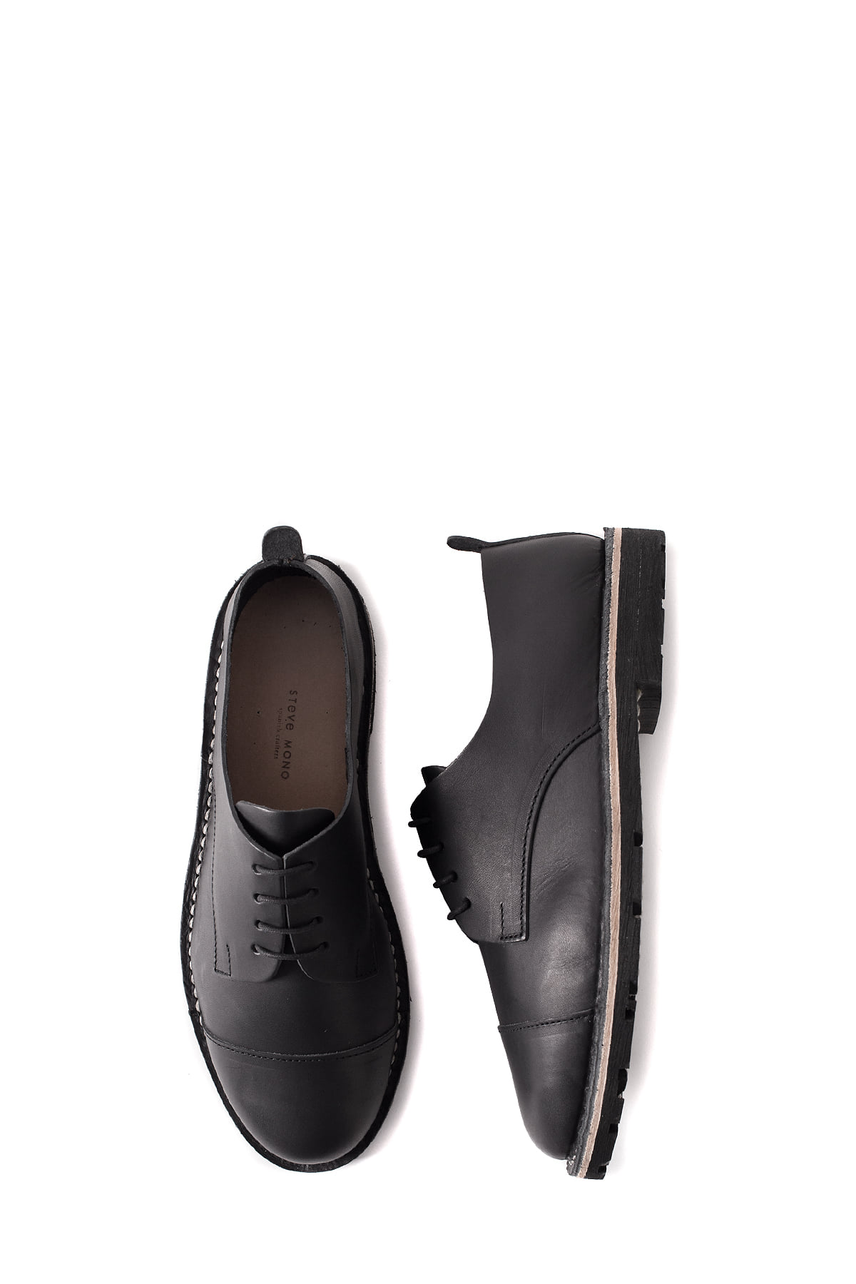 STEVE MONO : Artisanal Shoes 10/03 (Black)