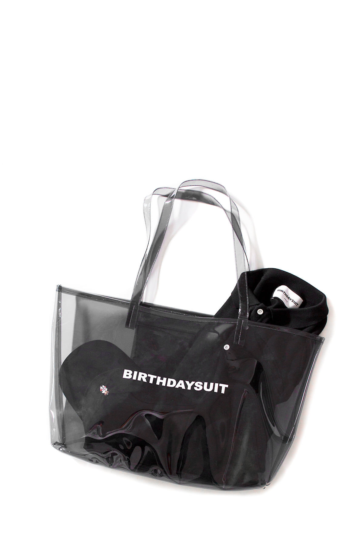 BIRTHDAYSUIT : LOGO PVC (Black)