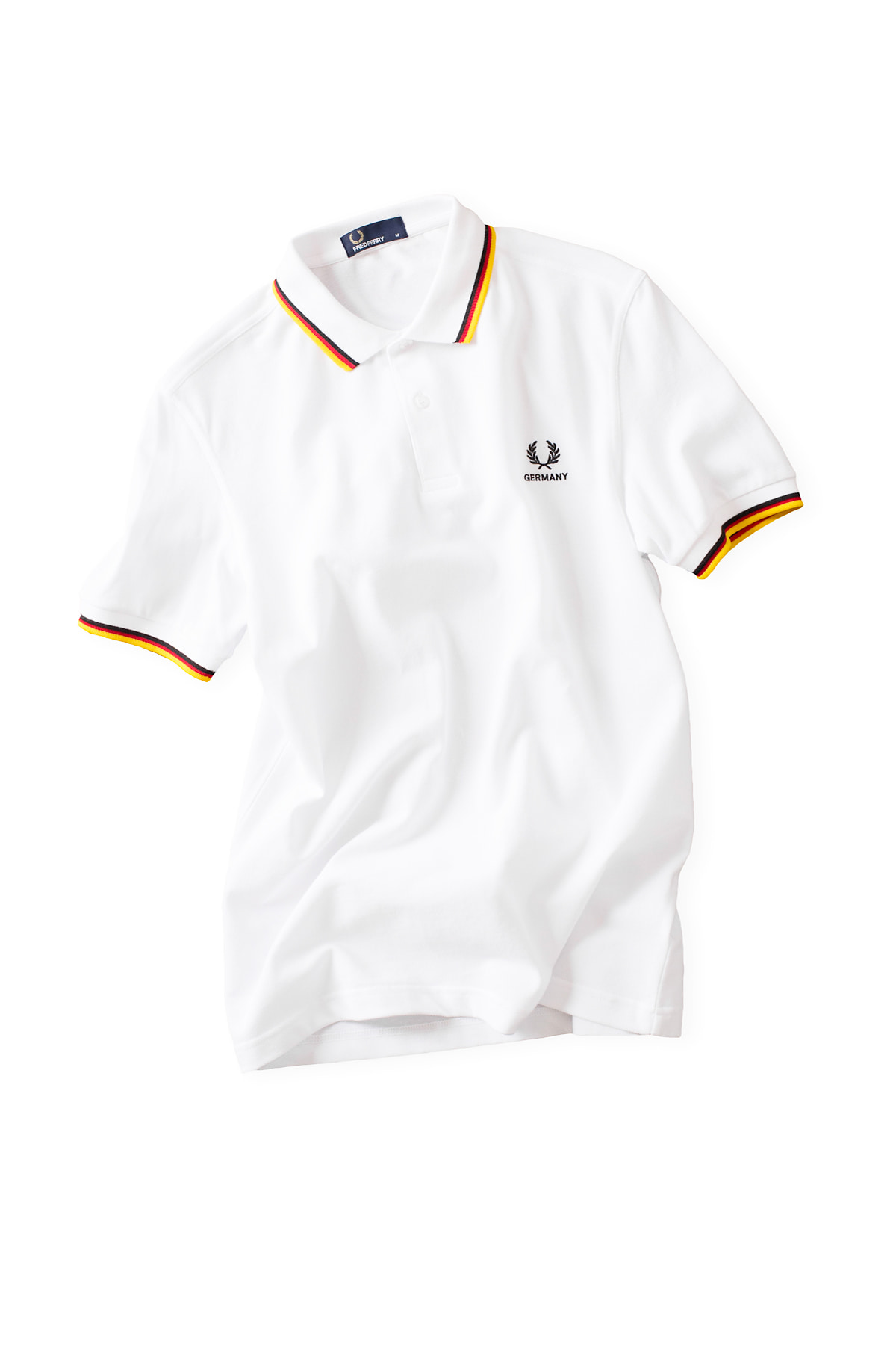 FRED PERRY : The Country Shirt GERMANY (White)