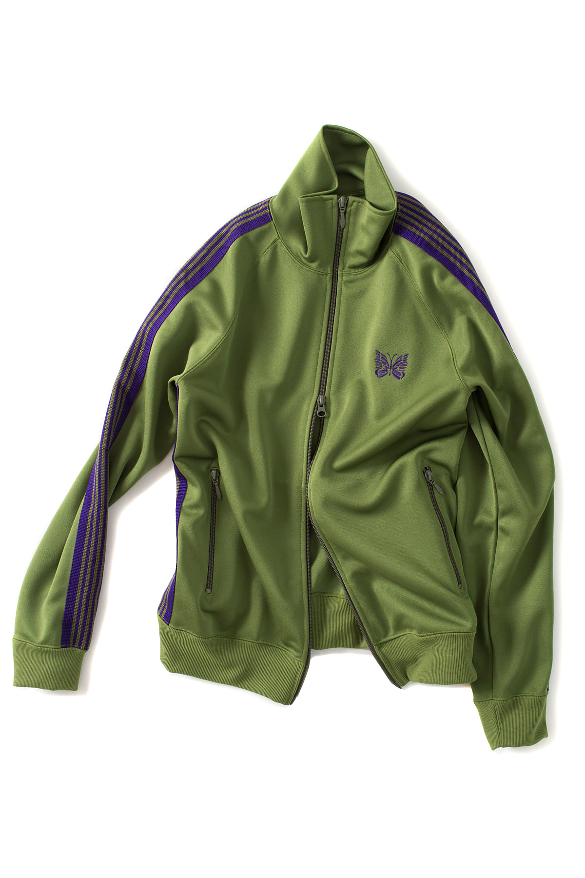 NEEDLES :Track Jacket (Lt.Green)