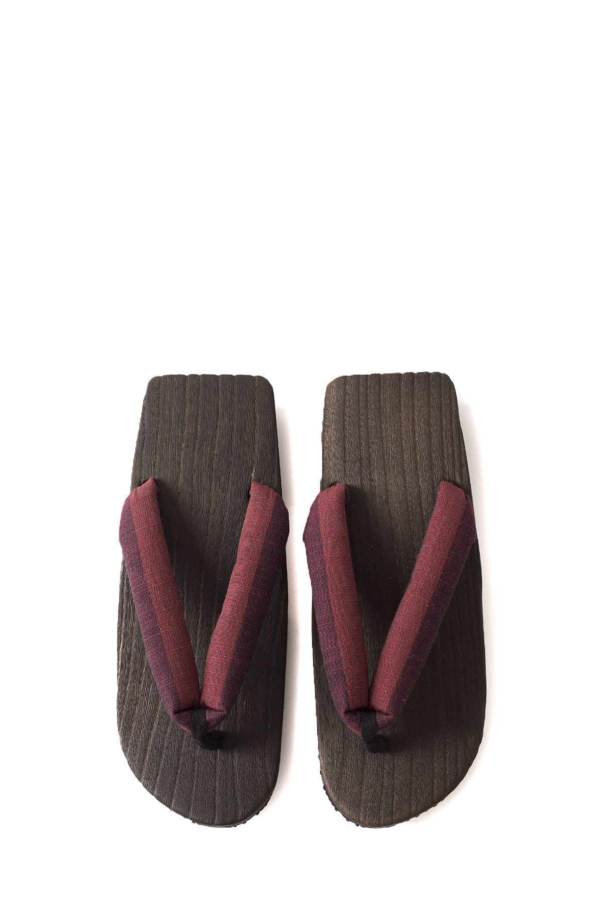 NEEDLES : Geta Sandals With Tsumugi Thong (Red)