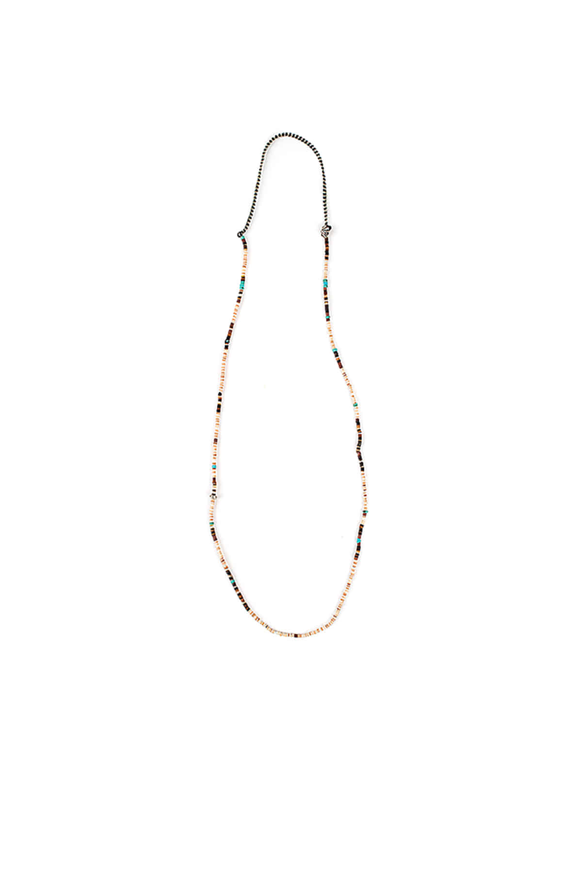 North Works : Seed Beads Necklace (Brown)