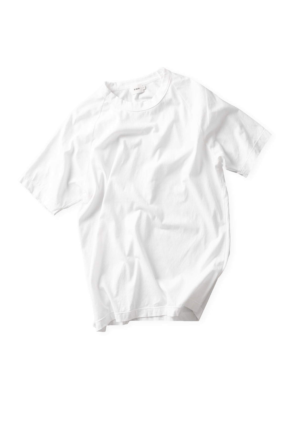 RINEN : Short Sleeved Crewneck 14809 (White)