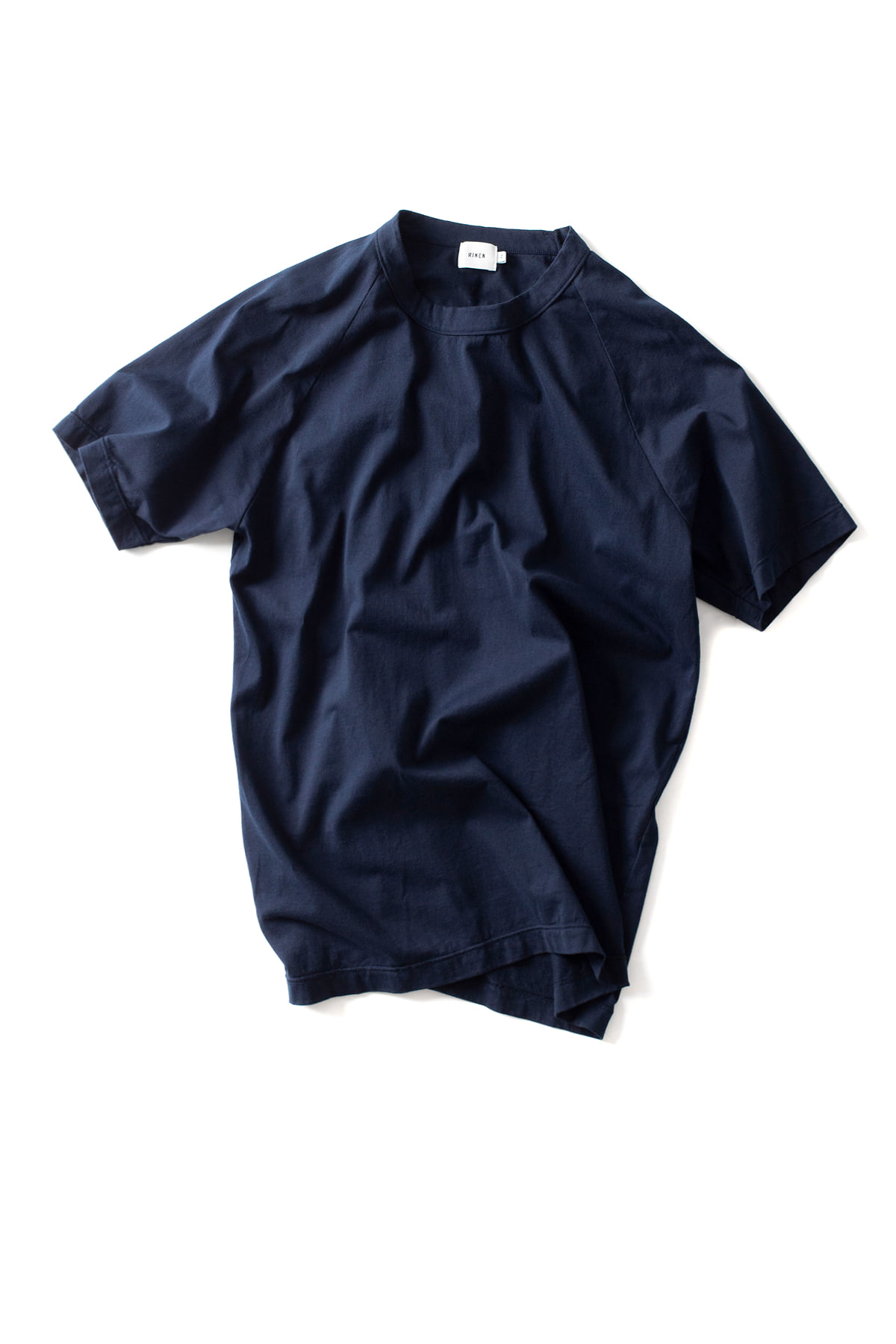 RINEN : Short Sleeved Crewneck 14809 (Navy)