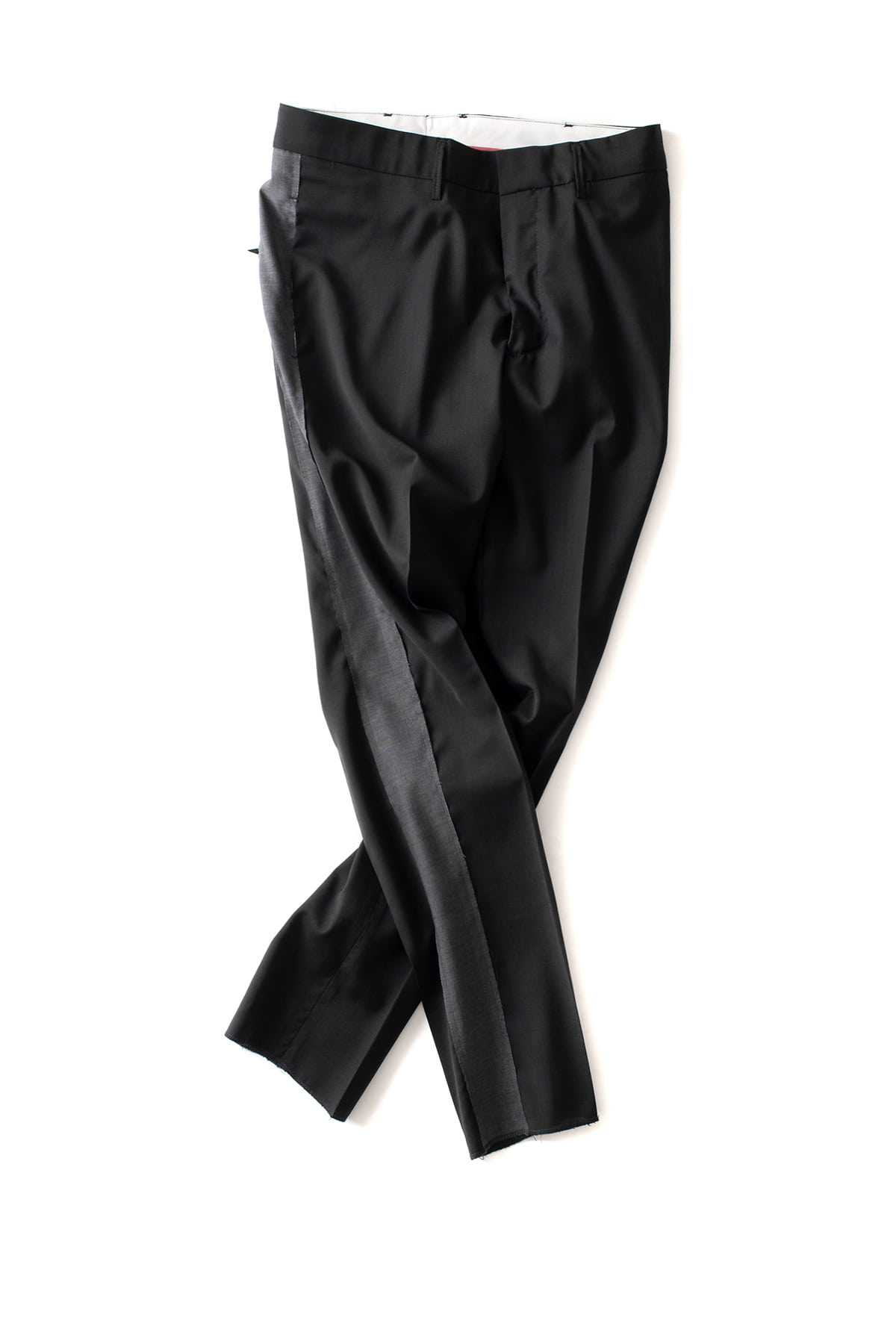 THE EDITOR : Woven Man Trousers 4495 (Black)