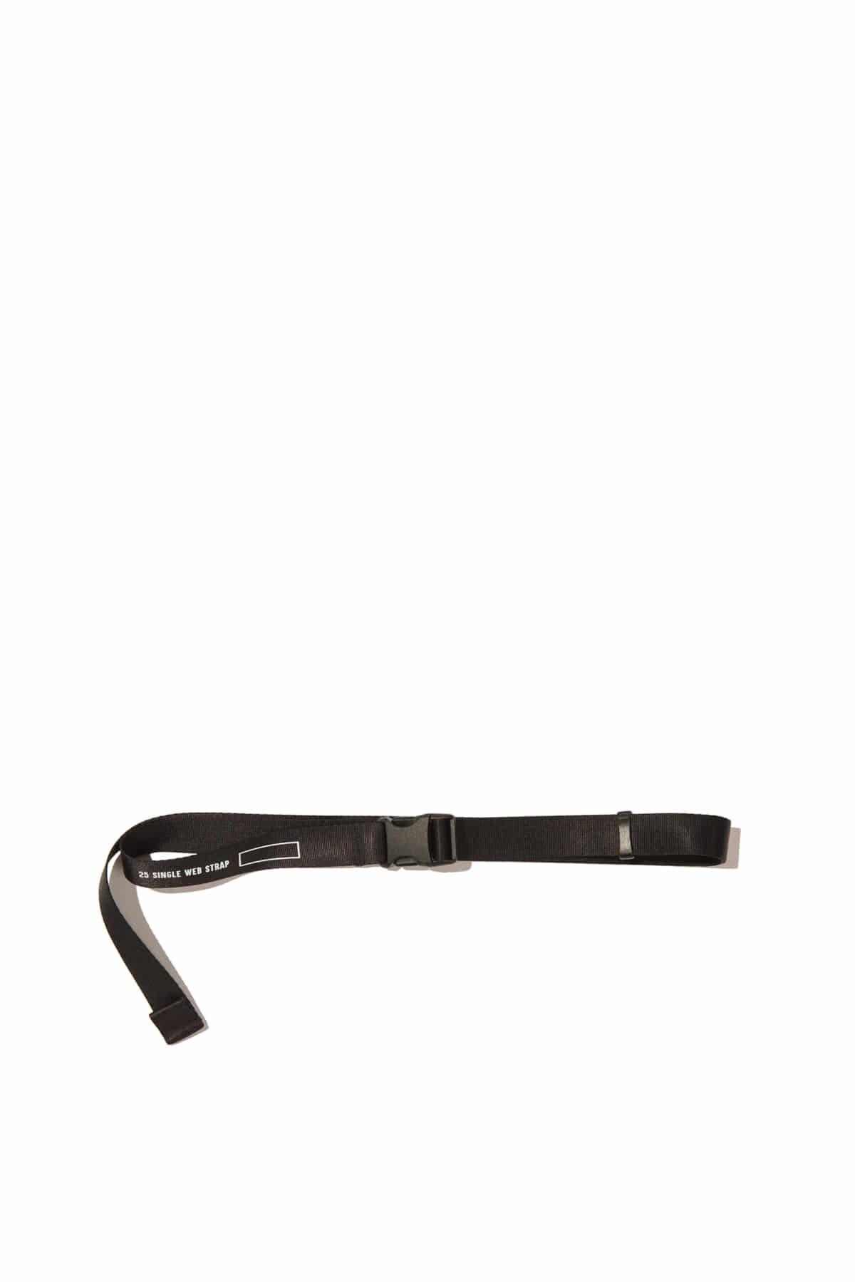 Blankof : LLG 01 SSR 25 Single Web Strap (Black)
