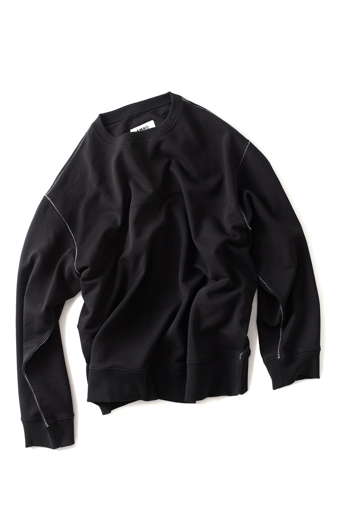 MM6 Maison Margiela : Basic Sweatshirt (Black)