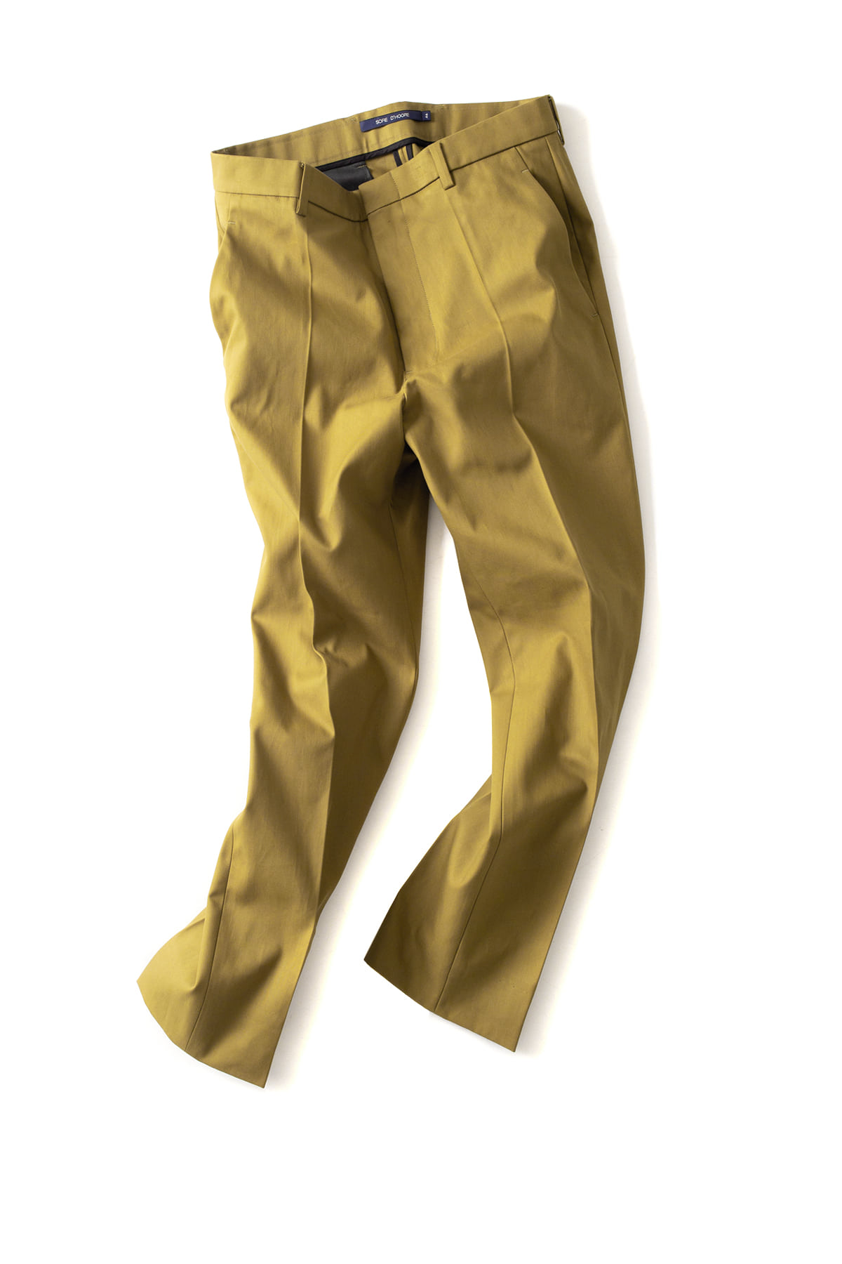 Sofie D'Hoore : Classic Fitted Pants (Khaki)