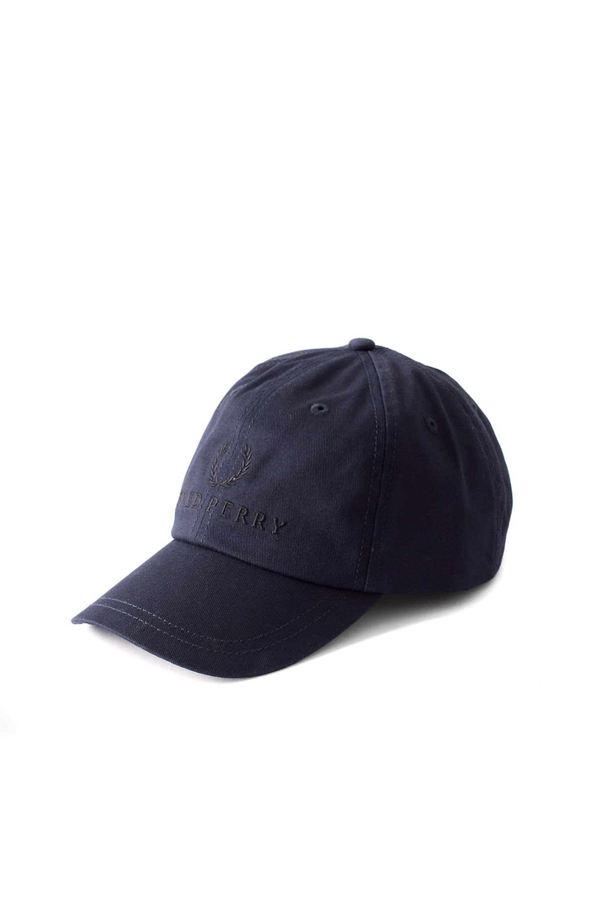 FRED PERRY : Fred Perry Tennis Cap (Washed Navy)
