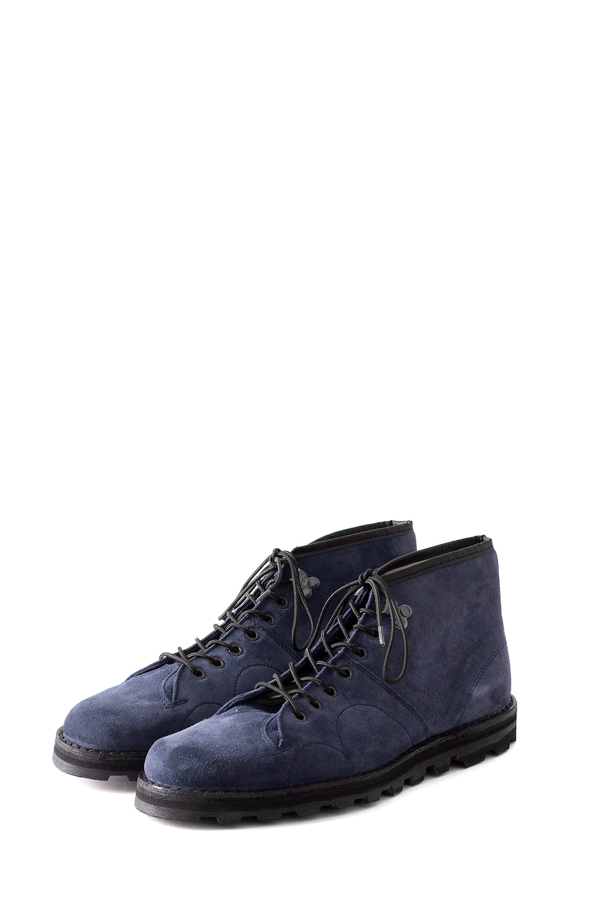 REPRODUCTION OF FOUND : Czecho Slovakia Military Boots 4100S (Navy Suede)