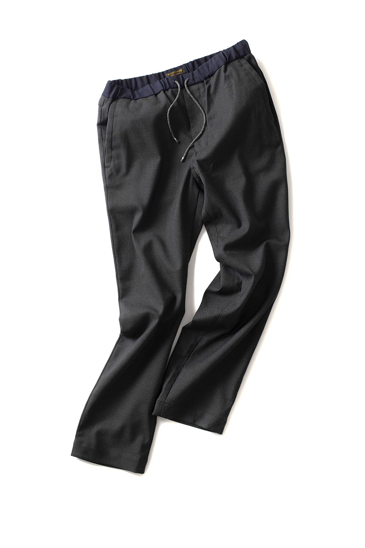 A vontade : Slim Easy Slacks (Charcoal)