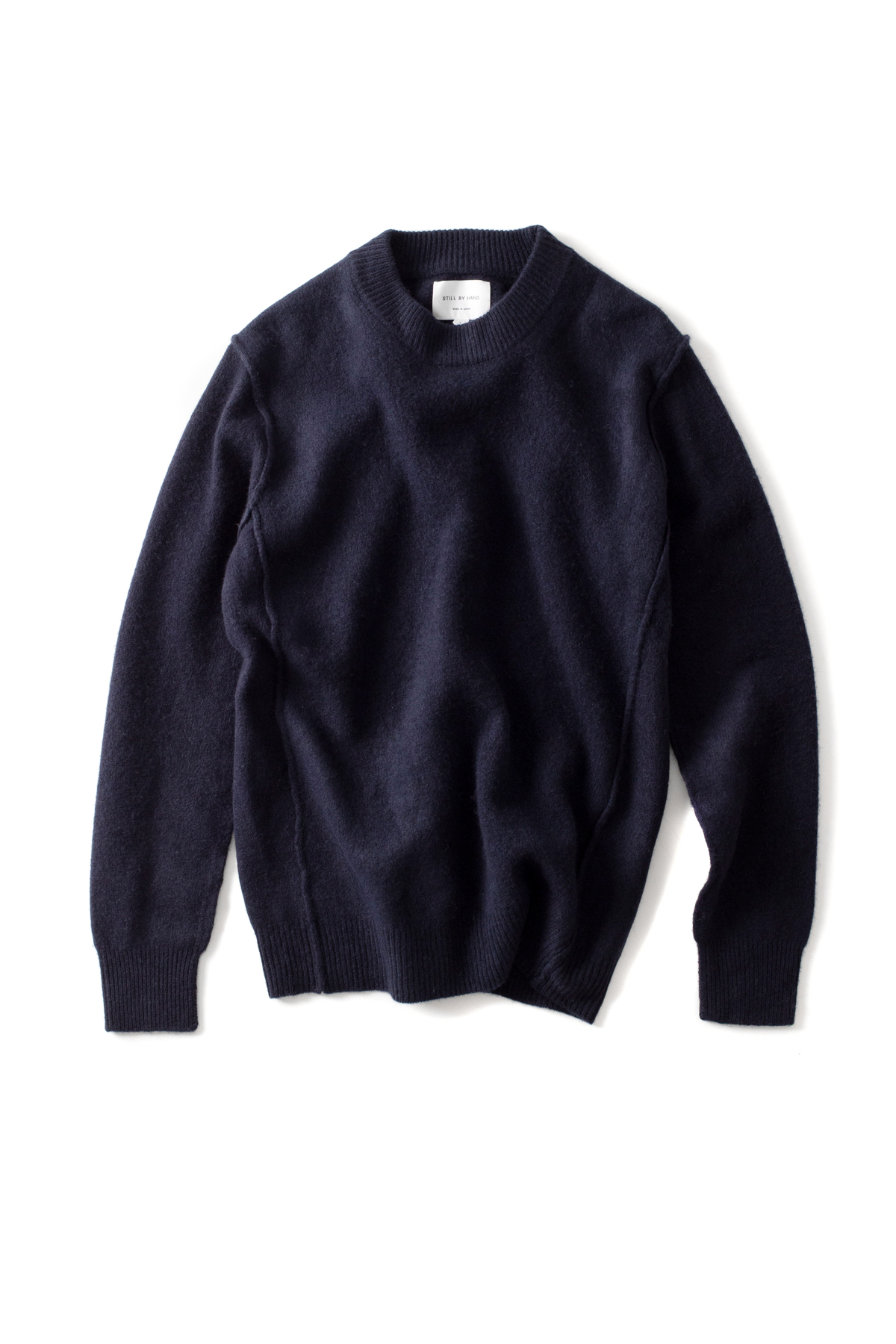 Still by Hand  : Shaggy Knit (Navy)