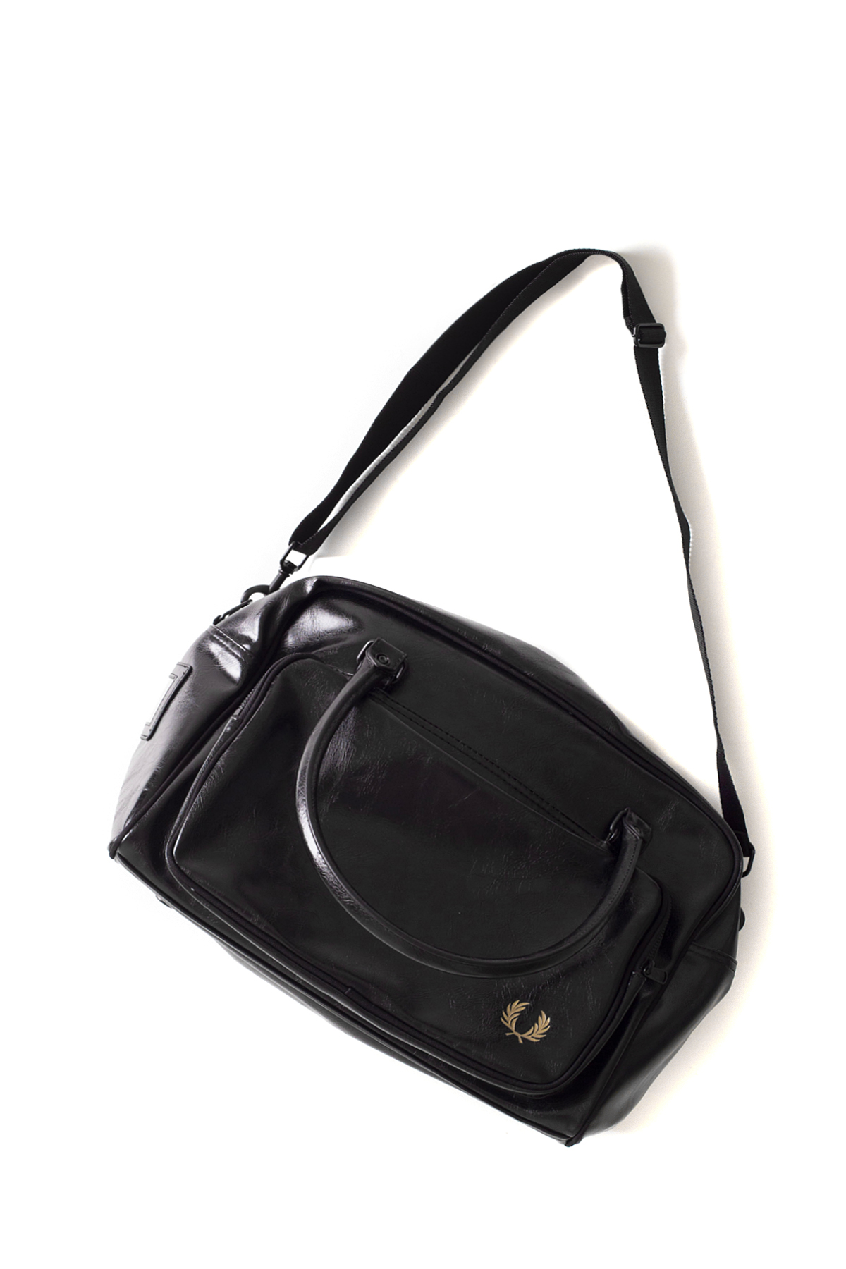 FRED PERRY : Classic Holdall (Black / Gold)