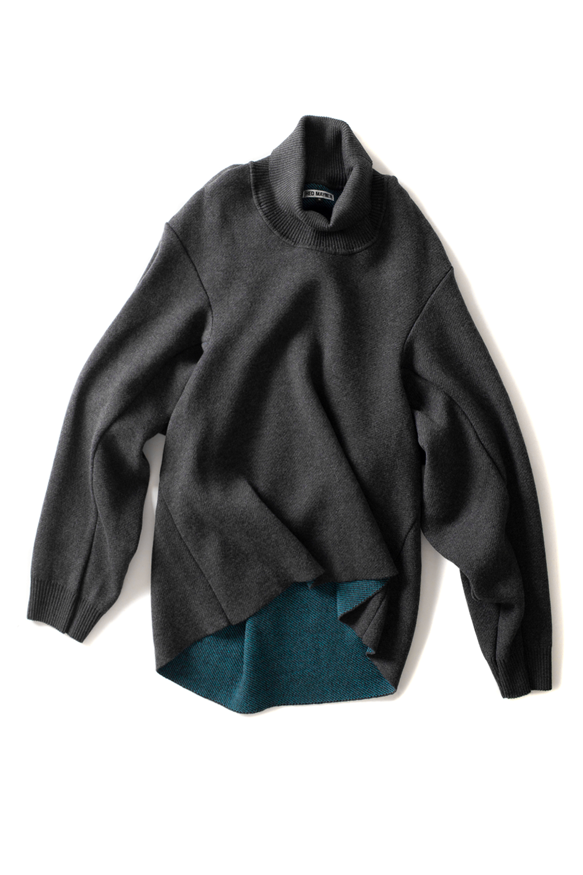 HED MAYNER : Turtleneck Sweater (Dark Grey)