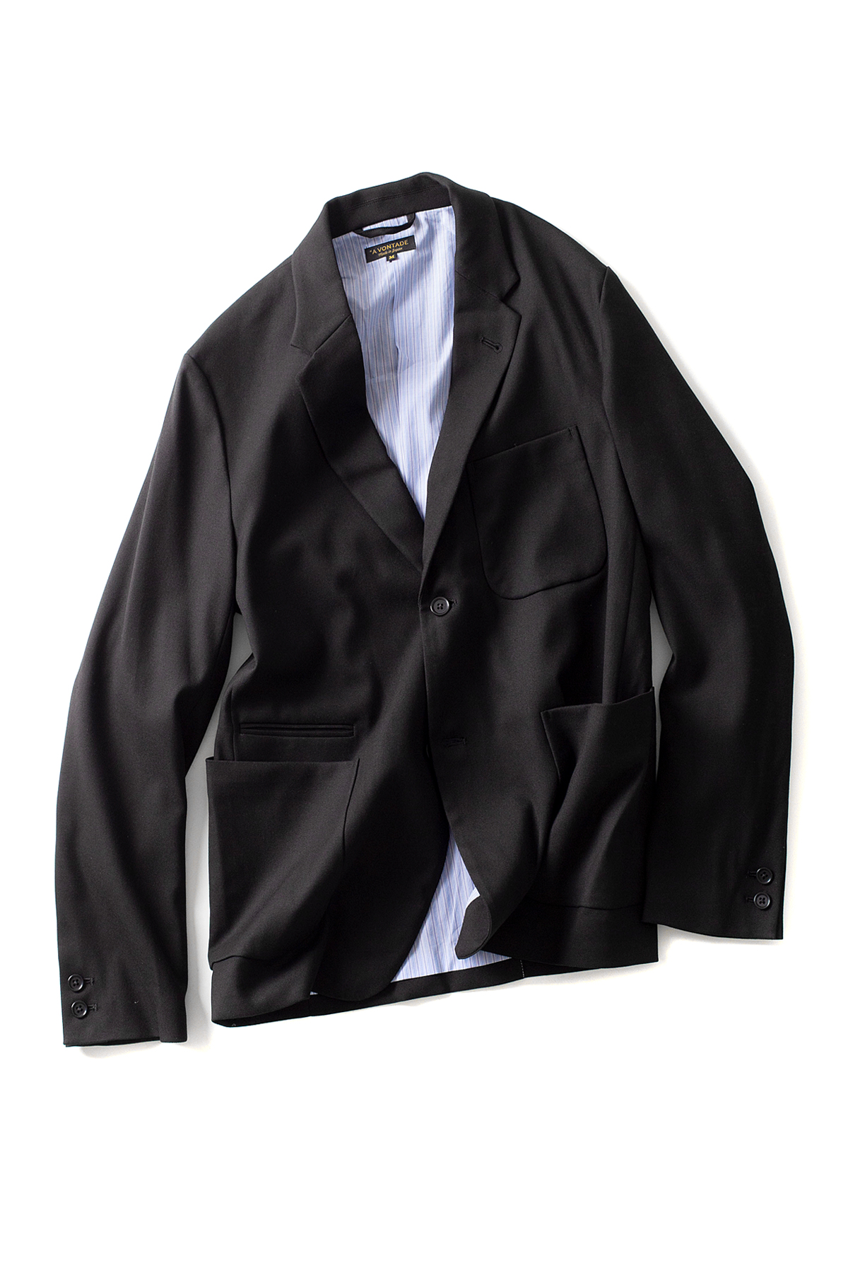 A vontade : Lounge Jacket (Black)
