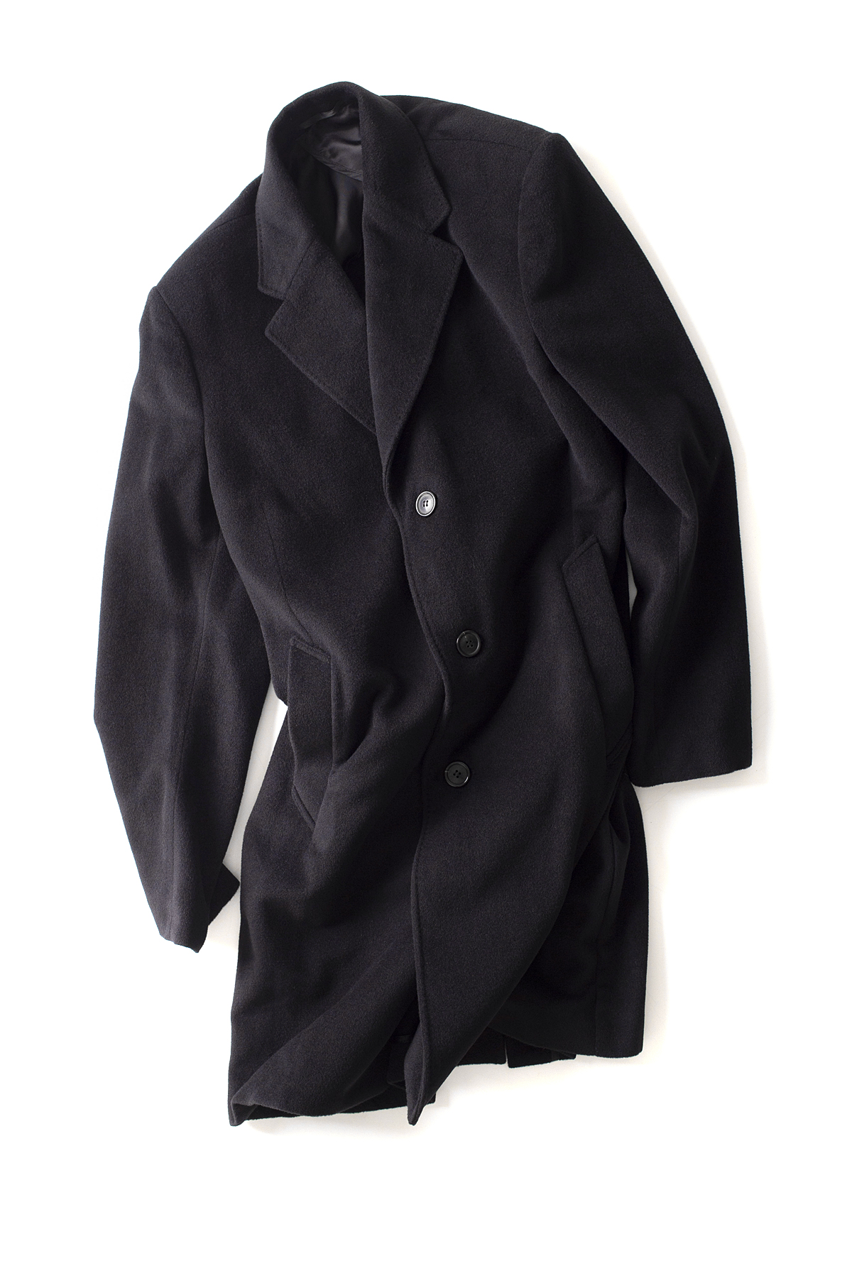 OUR LEGACY : Unconstructed Classic Coat (Black)