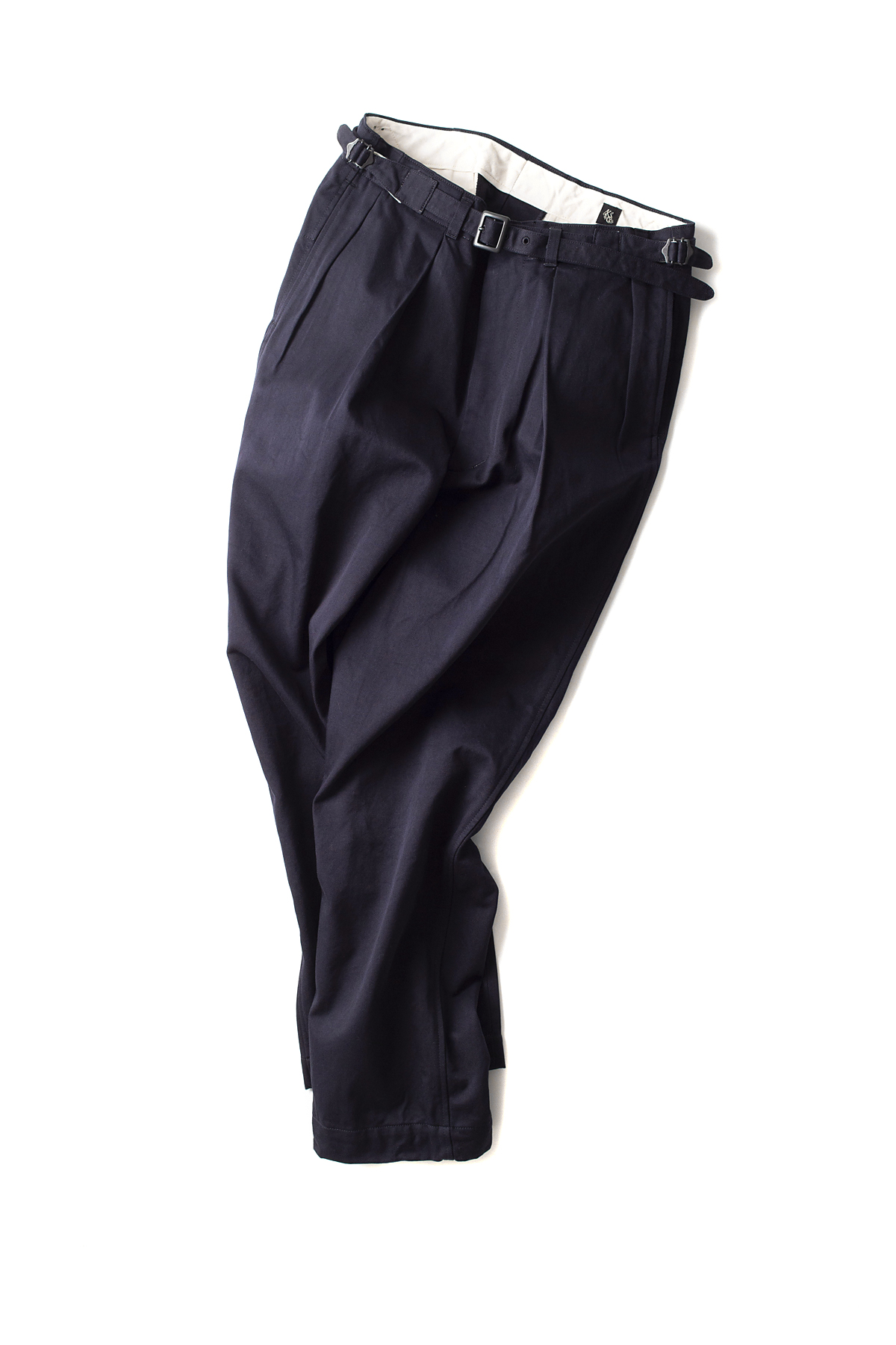 Kaptain Sunshine : Tapered Gurkha Trousers (Navy)