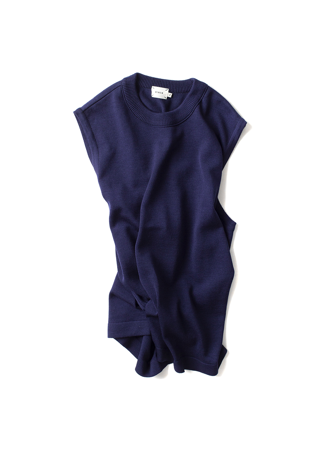 RINEN : Wool Knit Vest 13980 (Navy)