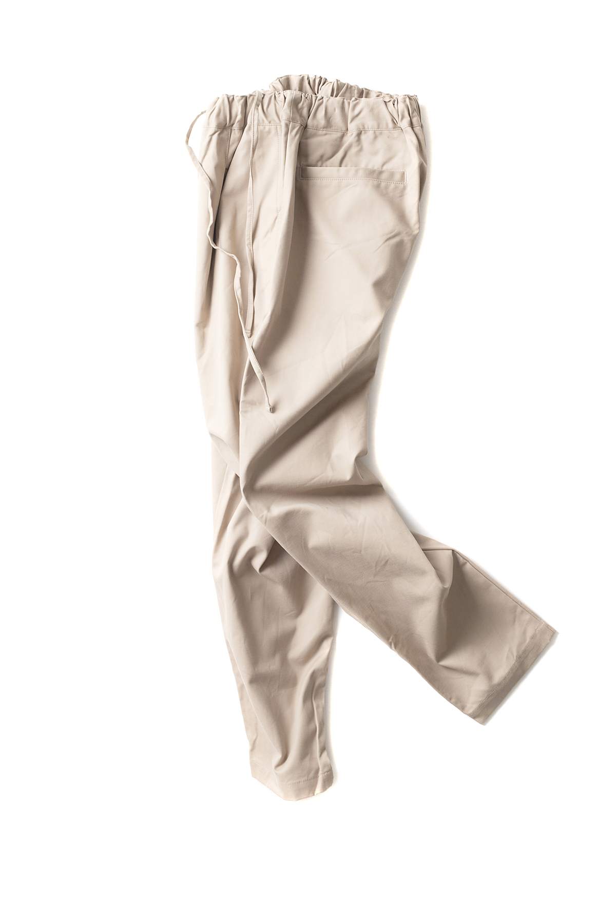 RINEN : One Tuck Easy Pants 43907 (Beige)