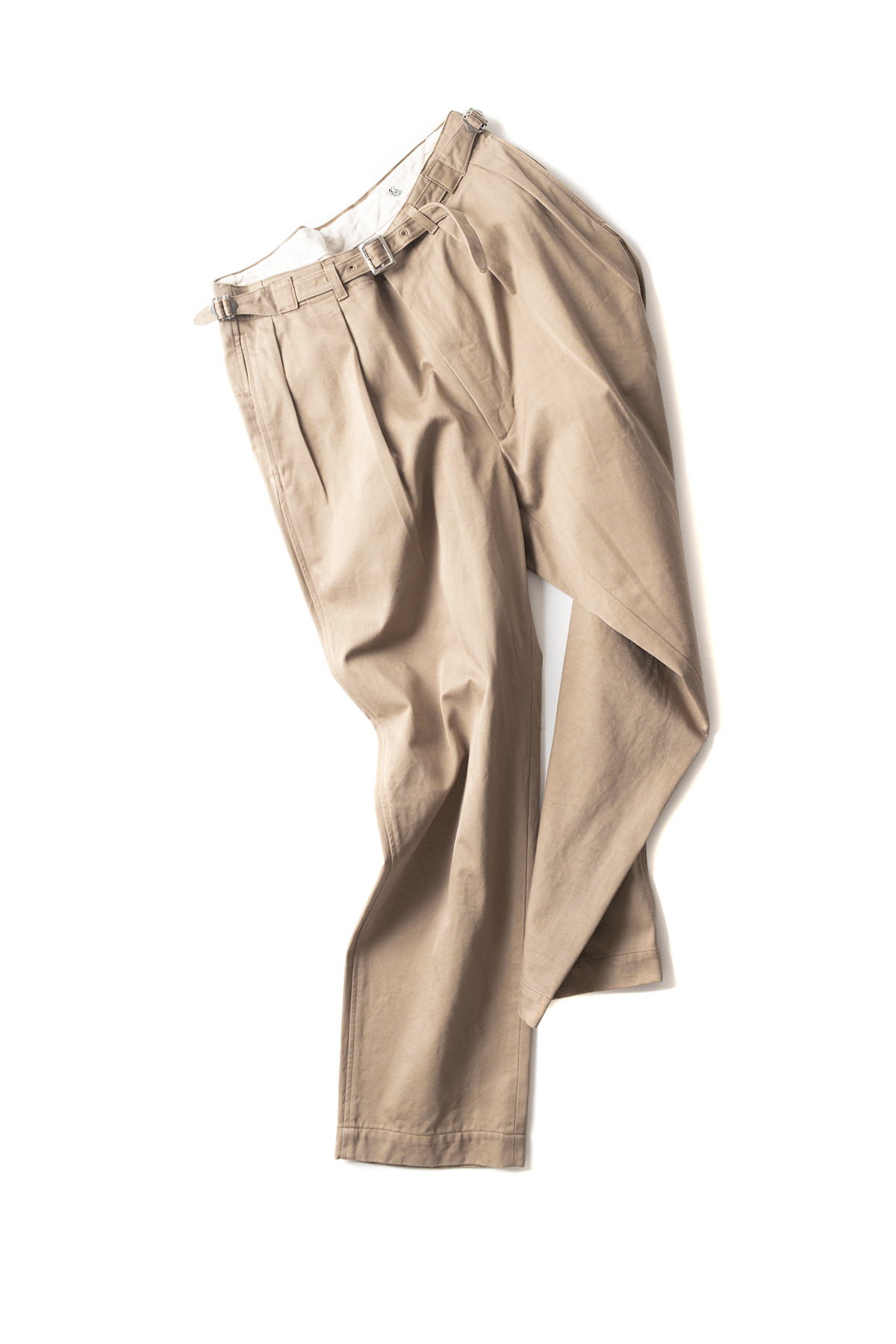 Kaptain Sunshine : Tapered Gurkha Trousers (Khaki)