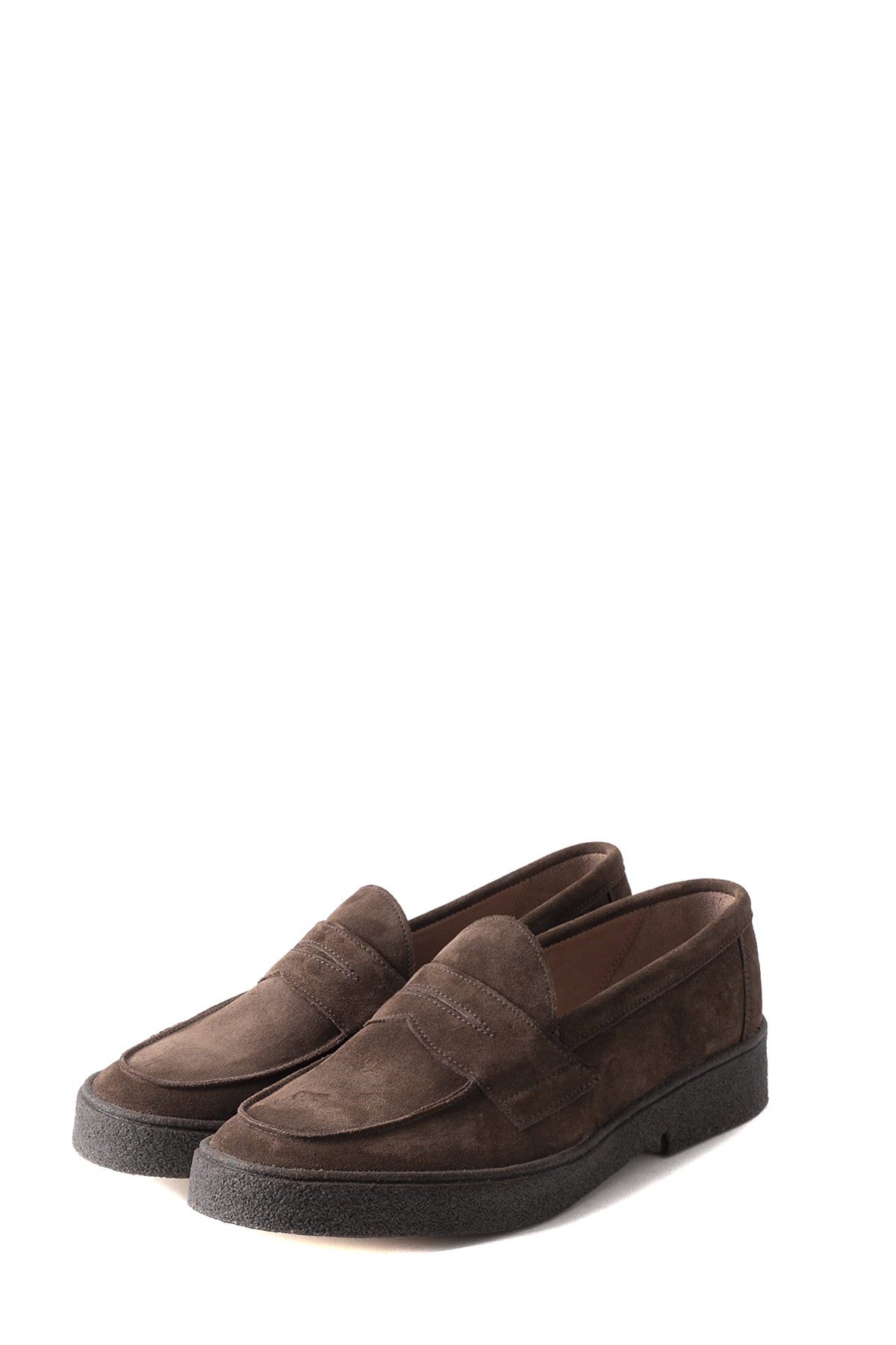 GEORGE COX : Penny Loafer (Snuff Suede)