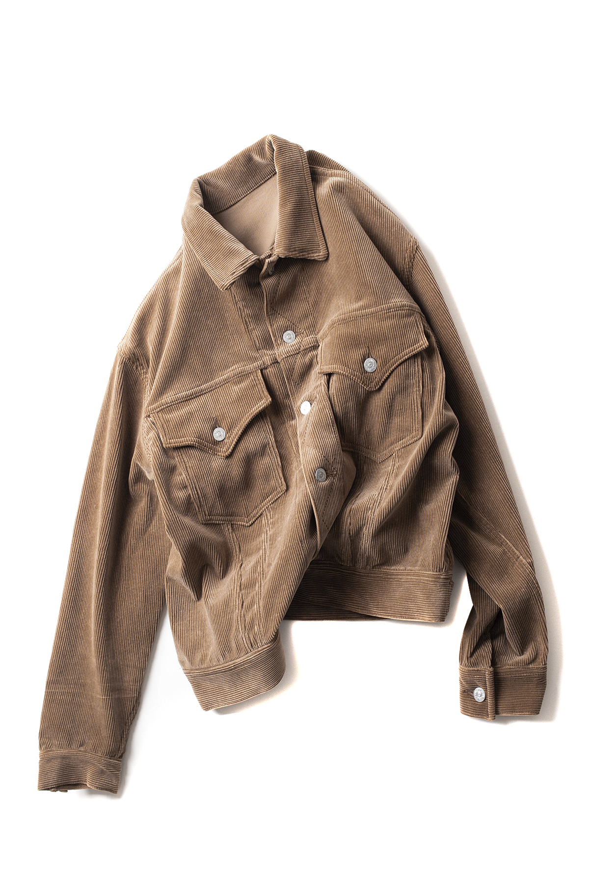 Kaptain Sunshine : Wide Riders JKT (Beige)
