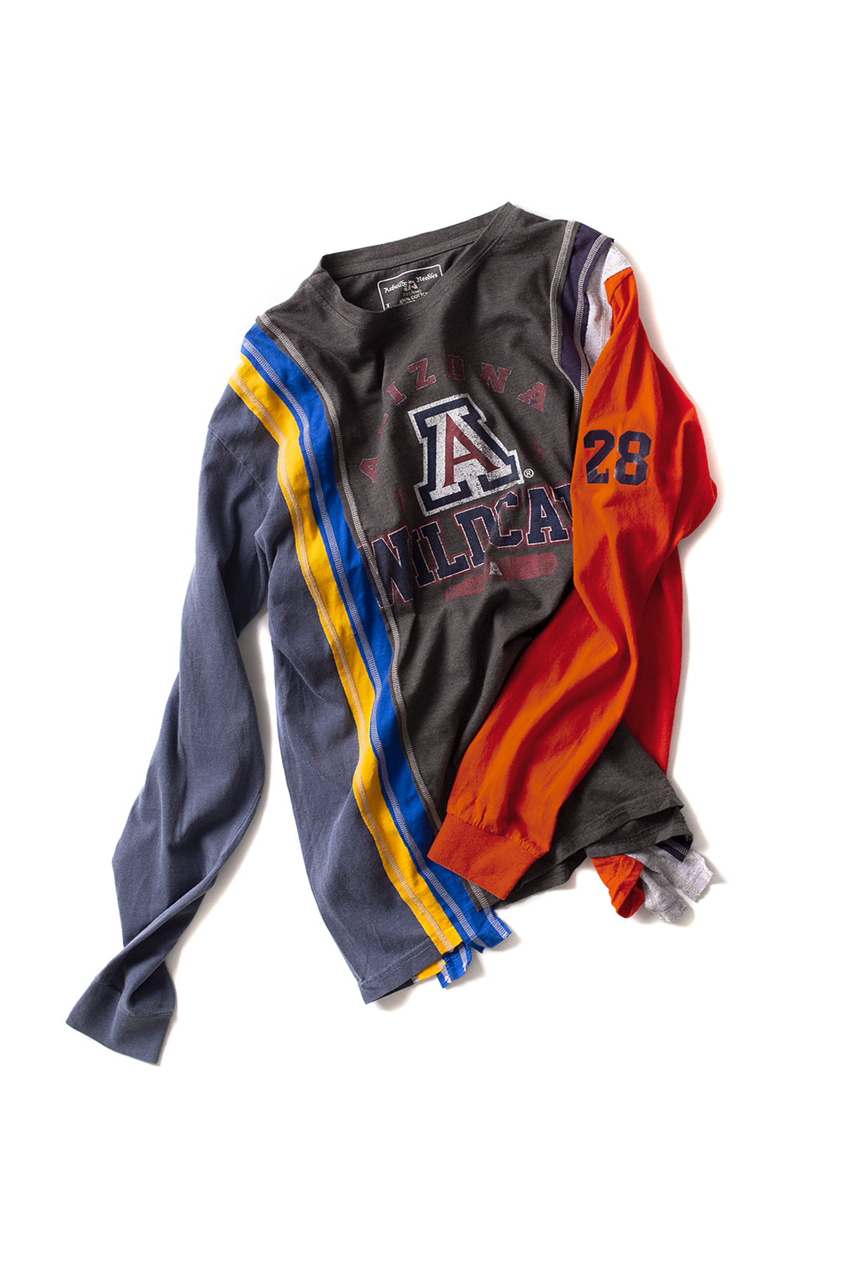 NEEDLES : Rebuild By NEEDLES 7Cuts College L/S Tee (L-C)