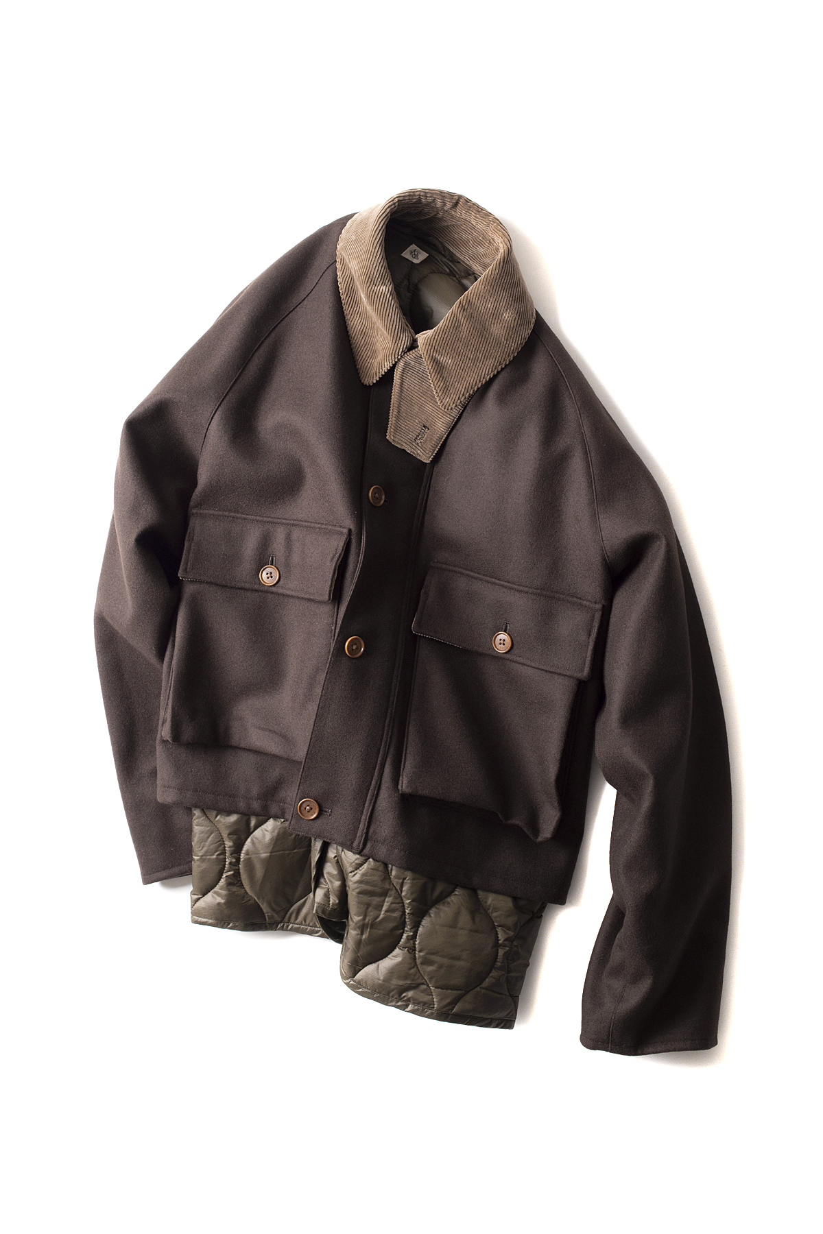 Kaptain Sunshine : Layered Fisherman JK (Brown)