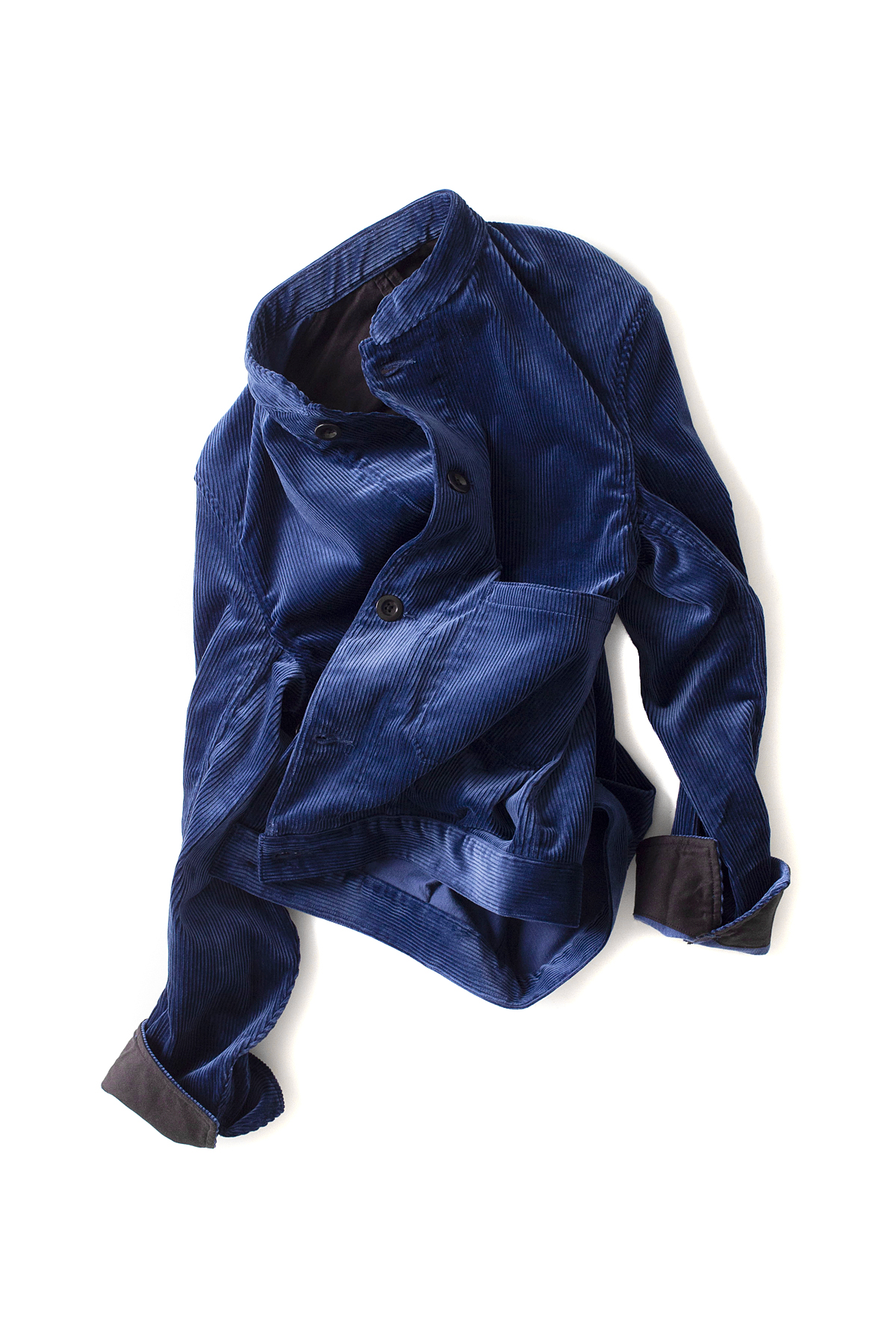 Scye : Corduroy Work Jacket (Blue)