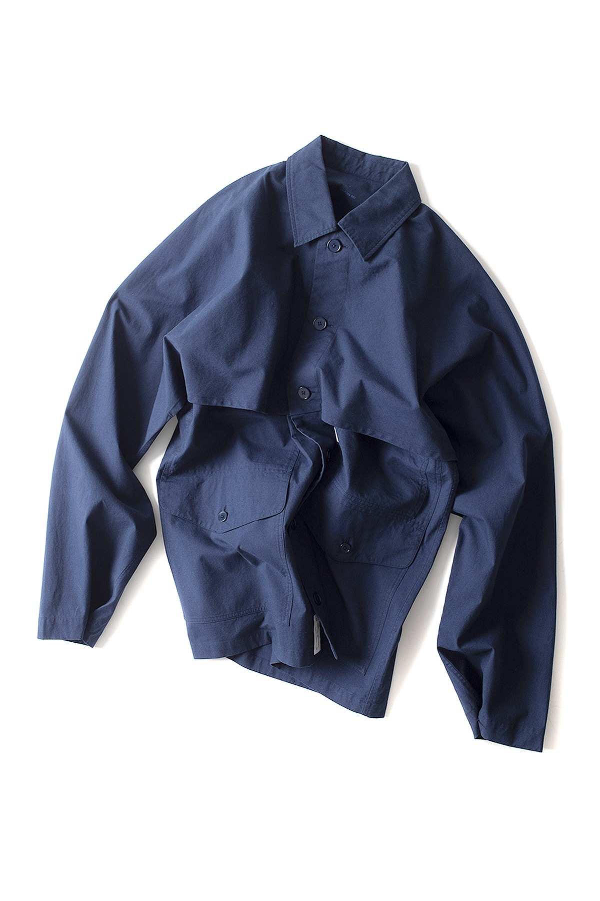 S H : Mackinaw Shirt (Navy)