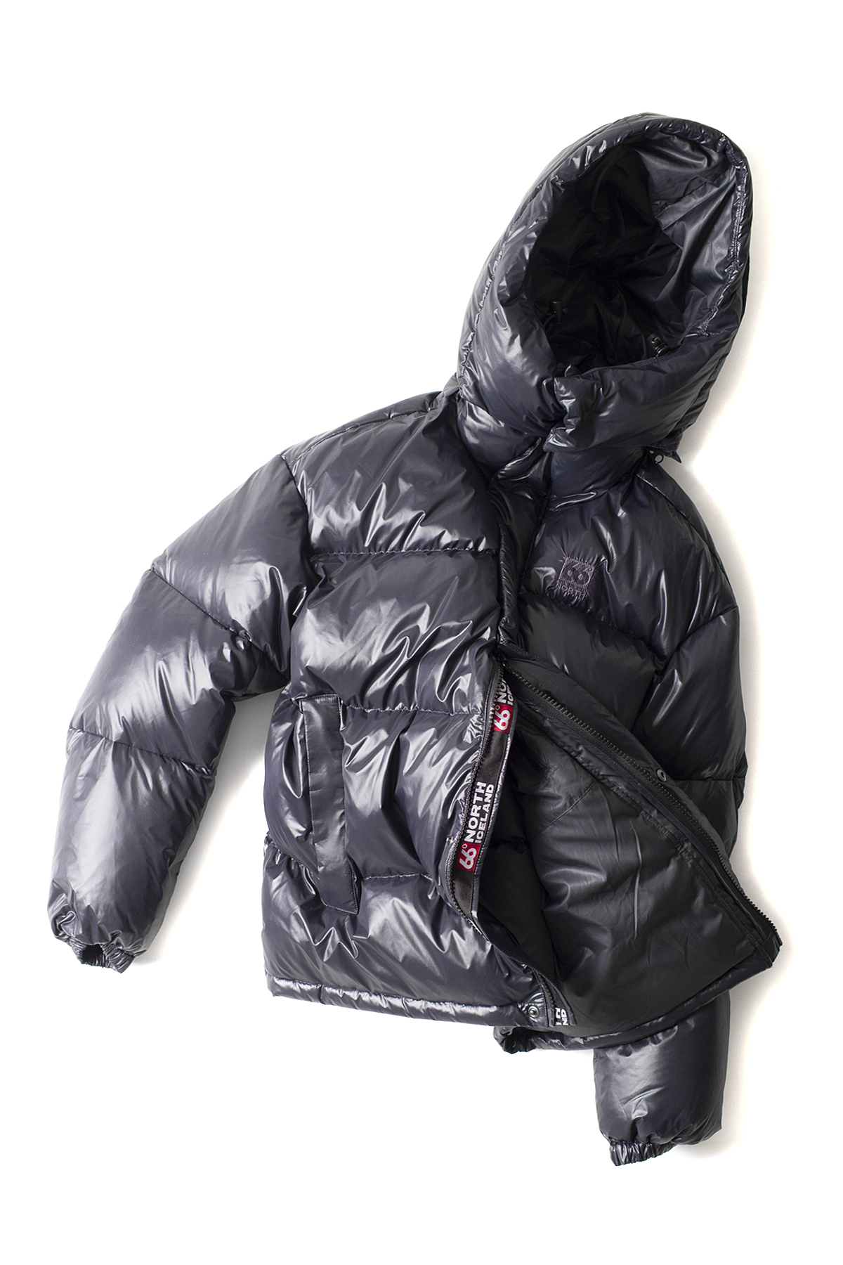 66North : Dyngja Down Jacket (Black)