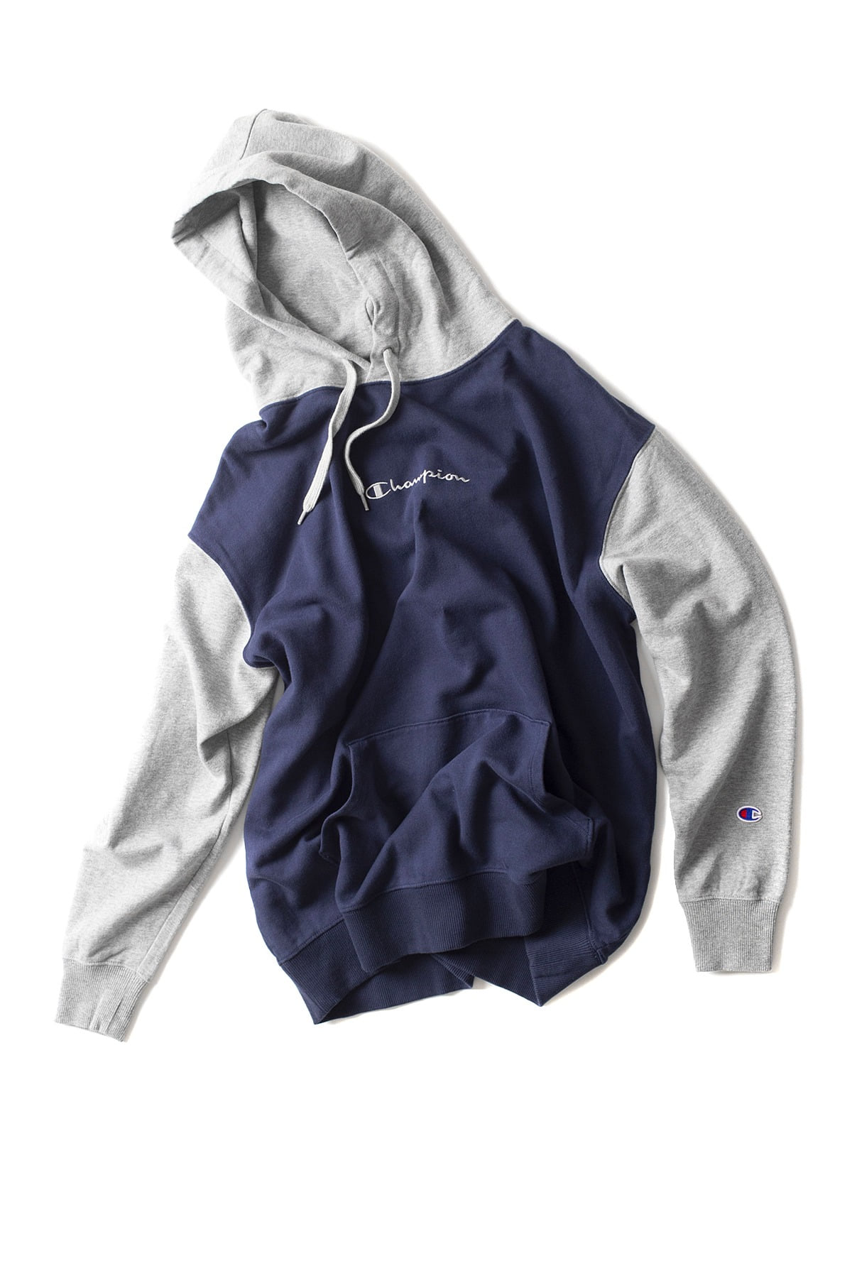 Champion : Pullover Wet Parker (Navy)