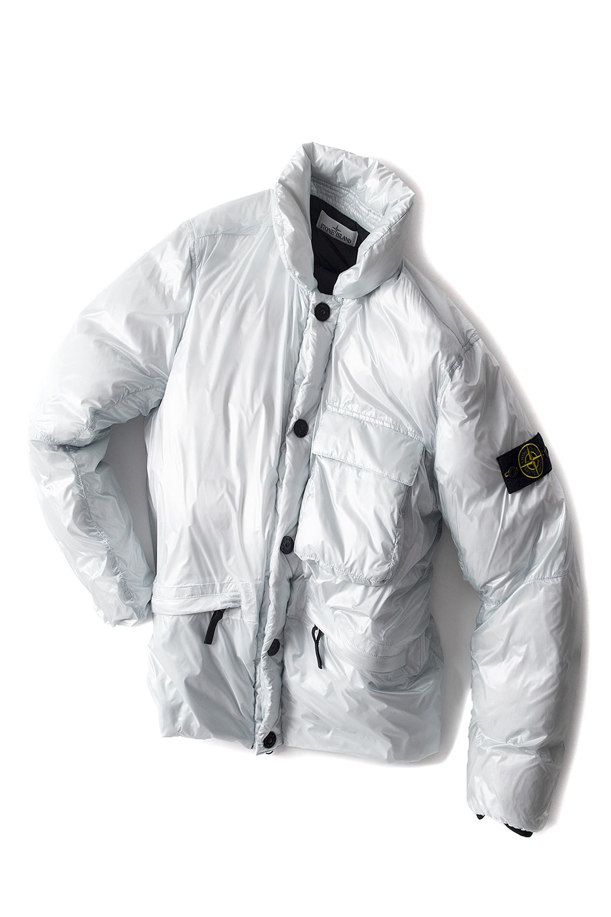 Stone Island : Pertex Quantom Y Down (Grey)