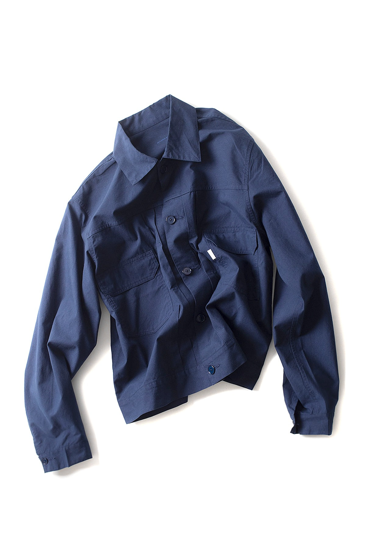 S H : Trucker Shirt (Navy)