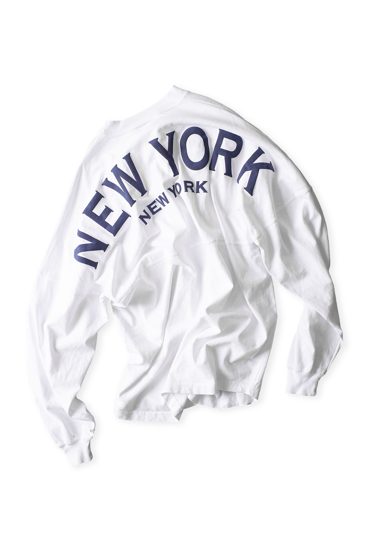 Spirit Jersey : Original Crew Neck Spirit Jersey (New York / White)