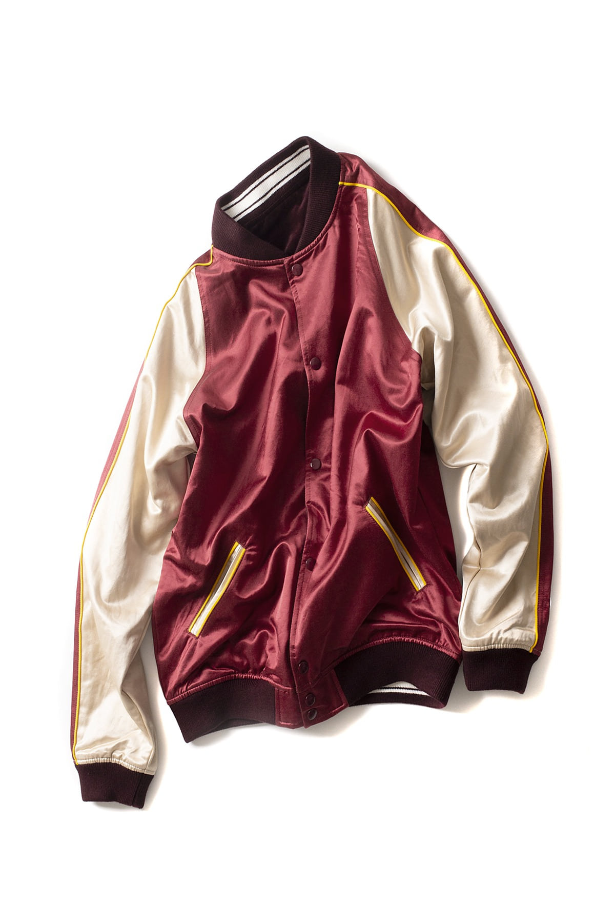 Champion : Reversible Jacket (Burgundy)