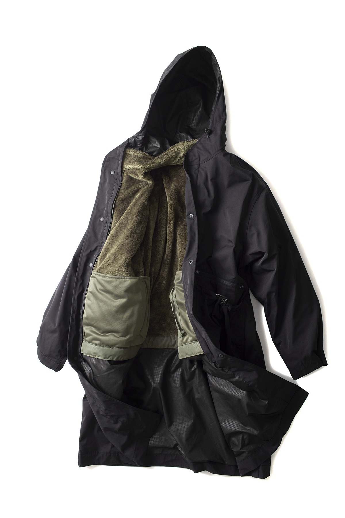 UNAFFECTED : Oversized Long Parka (Black)