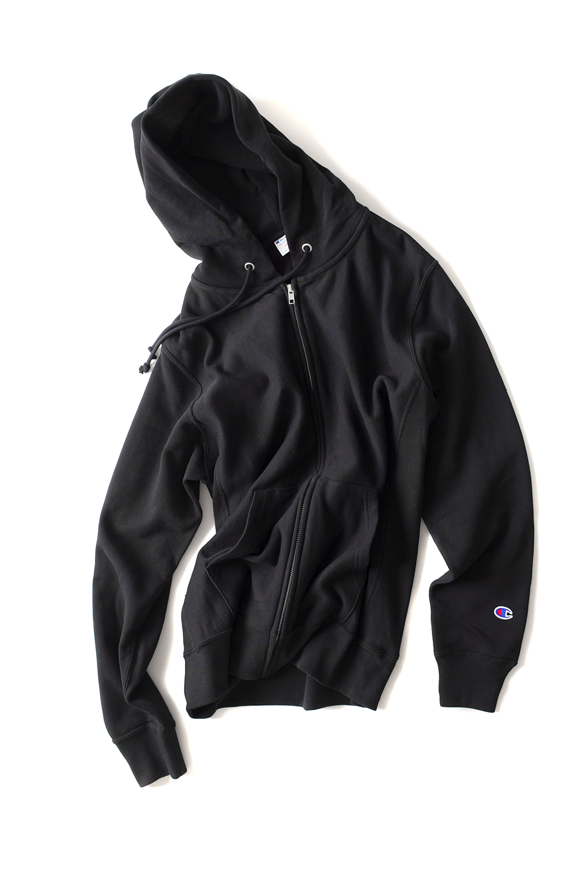 Champion : Reverse Weave Zips Wet Parker (Navy)