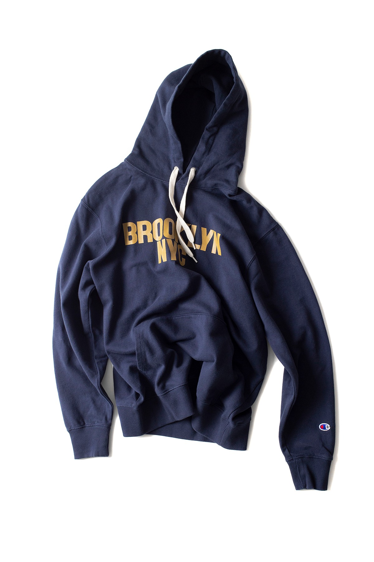 Champion : Hooded Sweatshirt (Navy)
