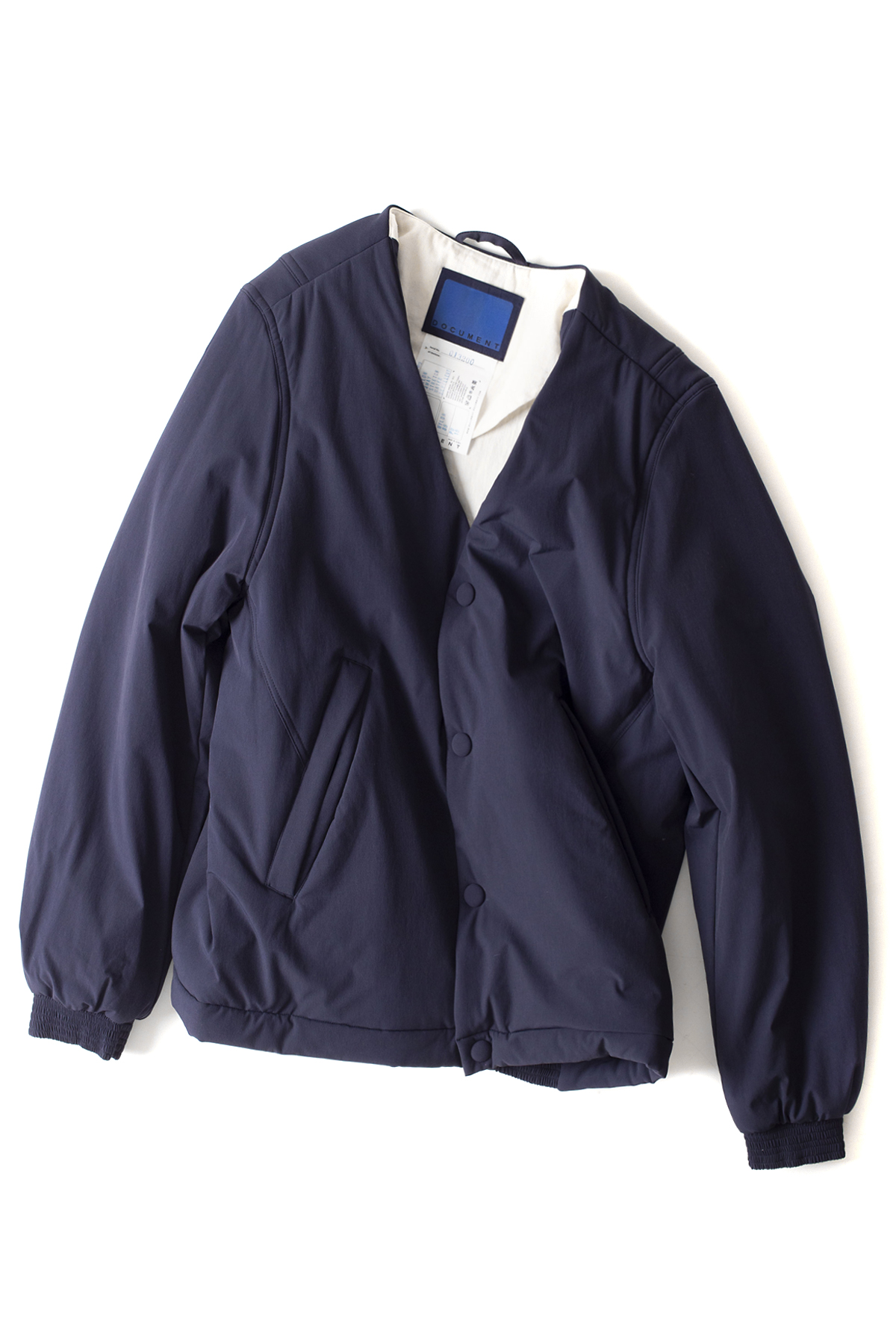 Document : Nylon Padded Jacket (Navy)