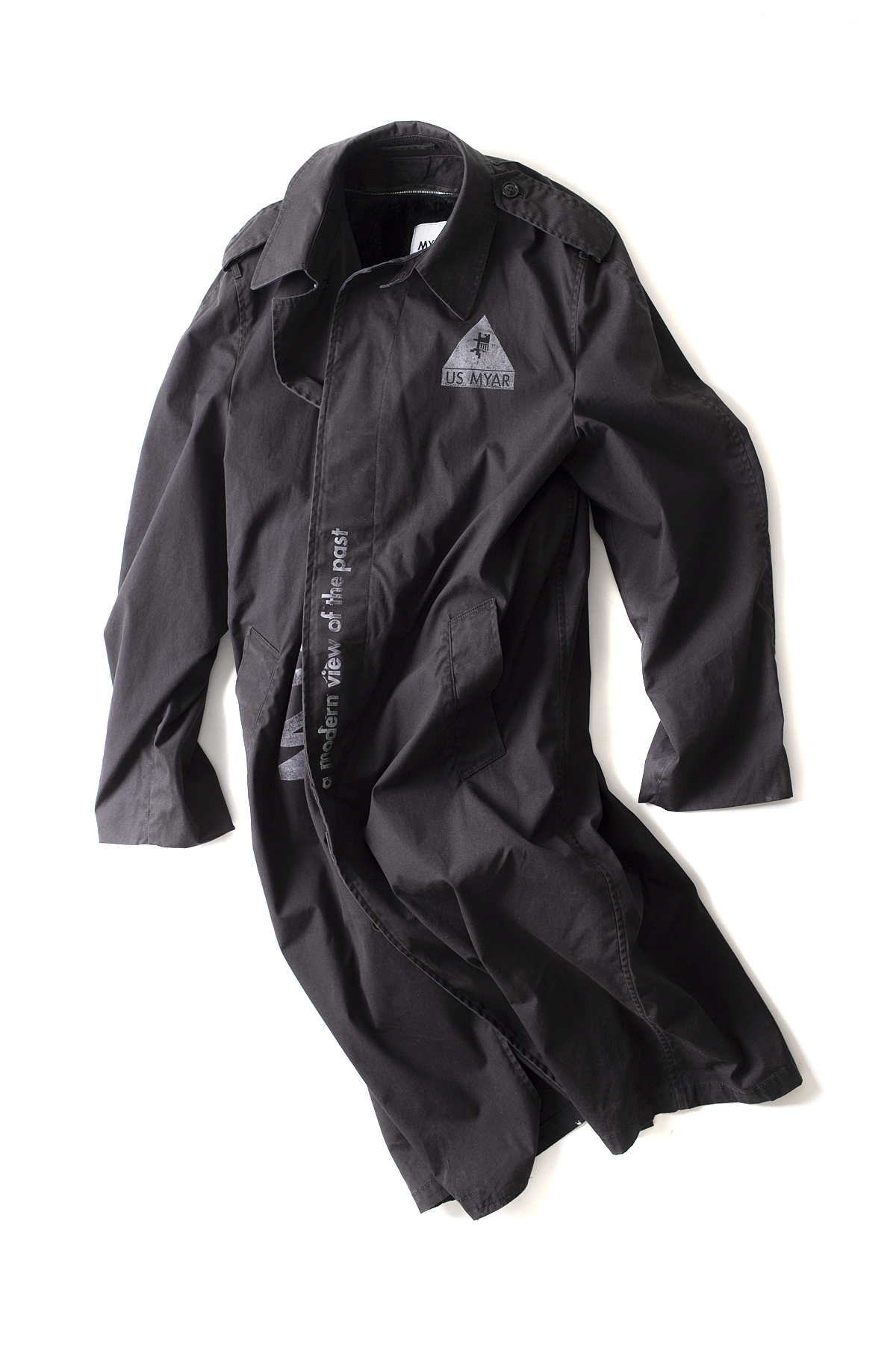 MYAR : Nylon Jacket (Black)