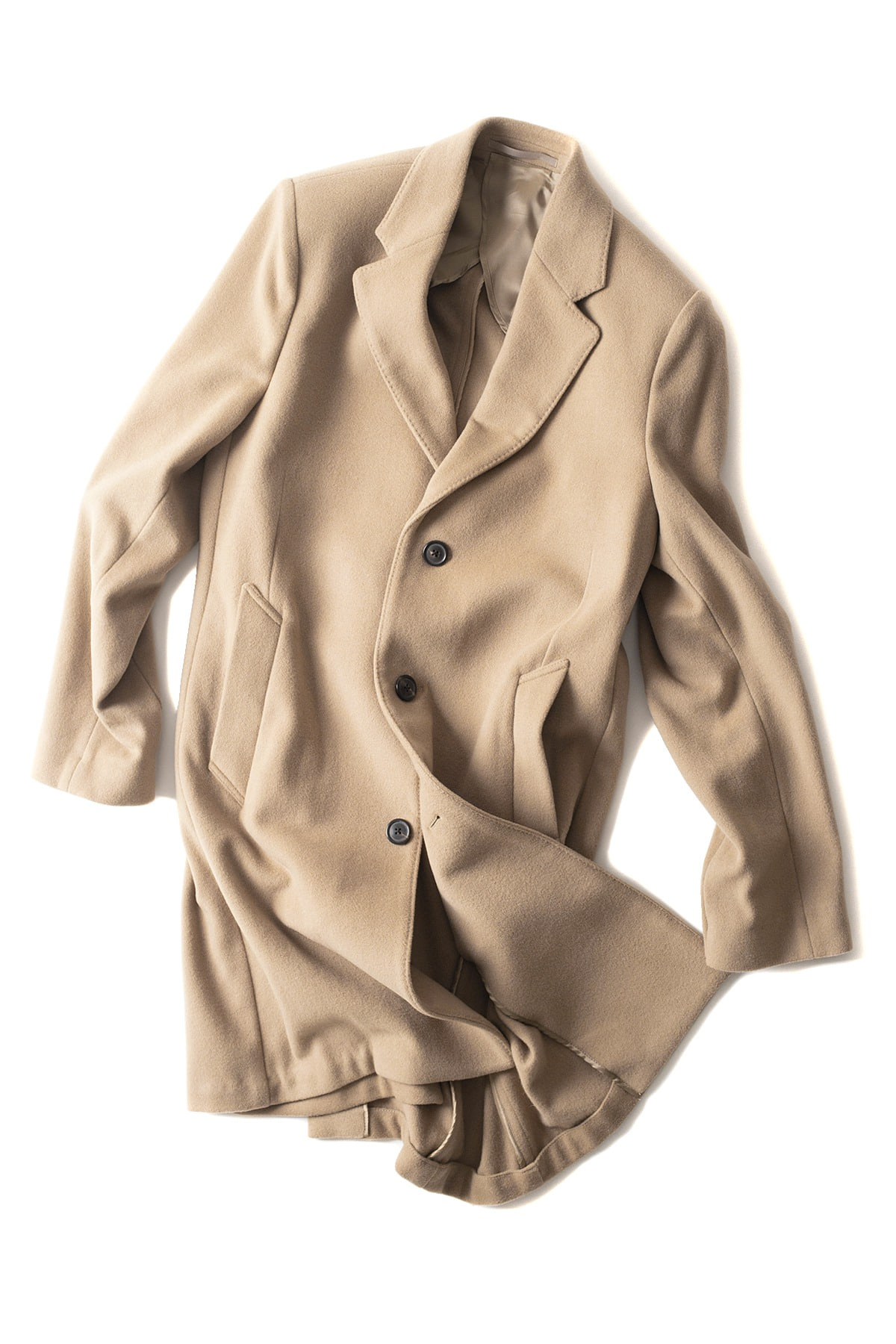 OUR LEGACY : Unconstructed Classic Coat Soft Camel Wool (Camel)