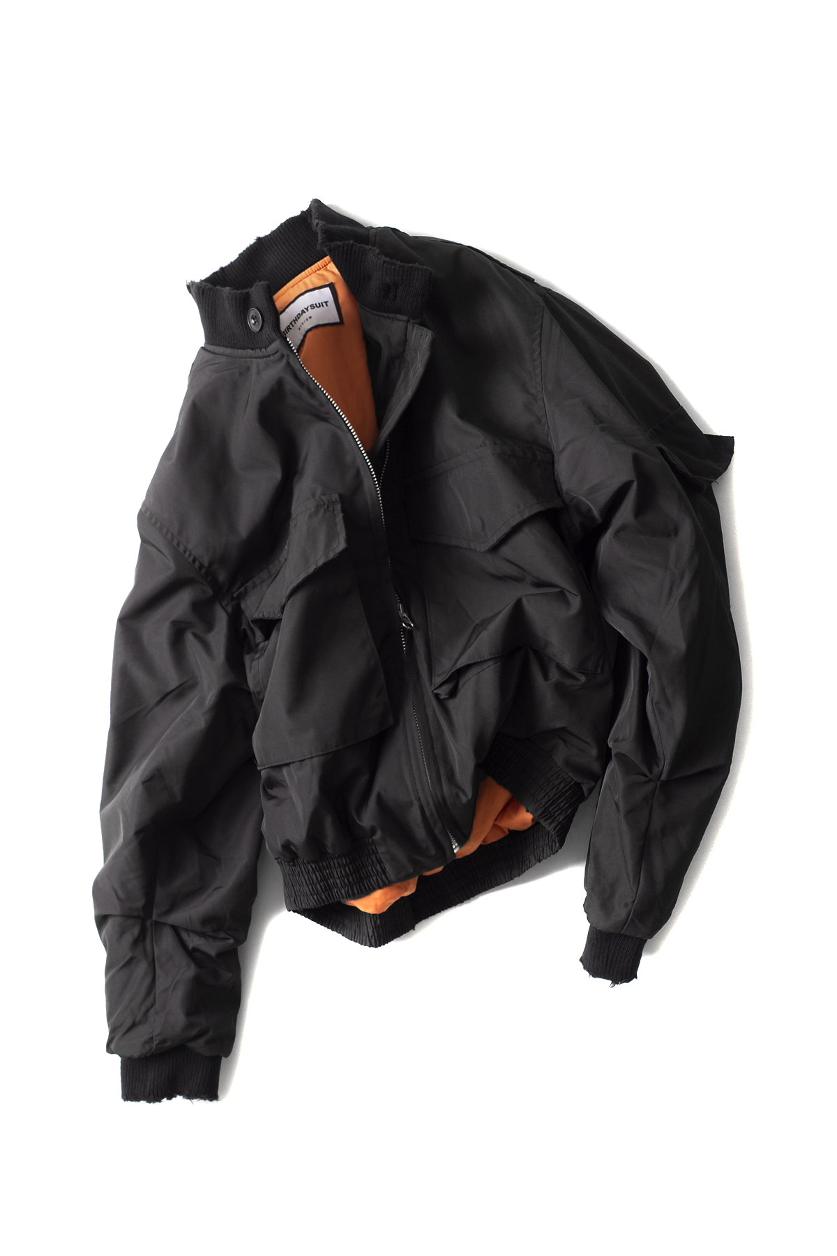 BIRTHDAYSUIT : G-8 Flight Jacket (Black)