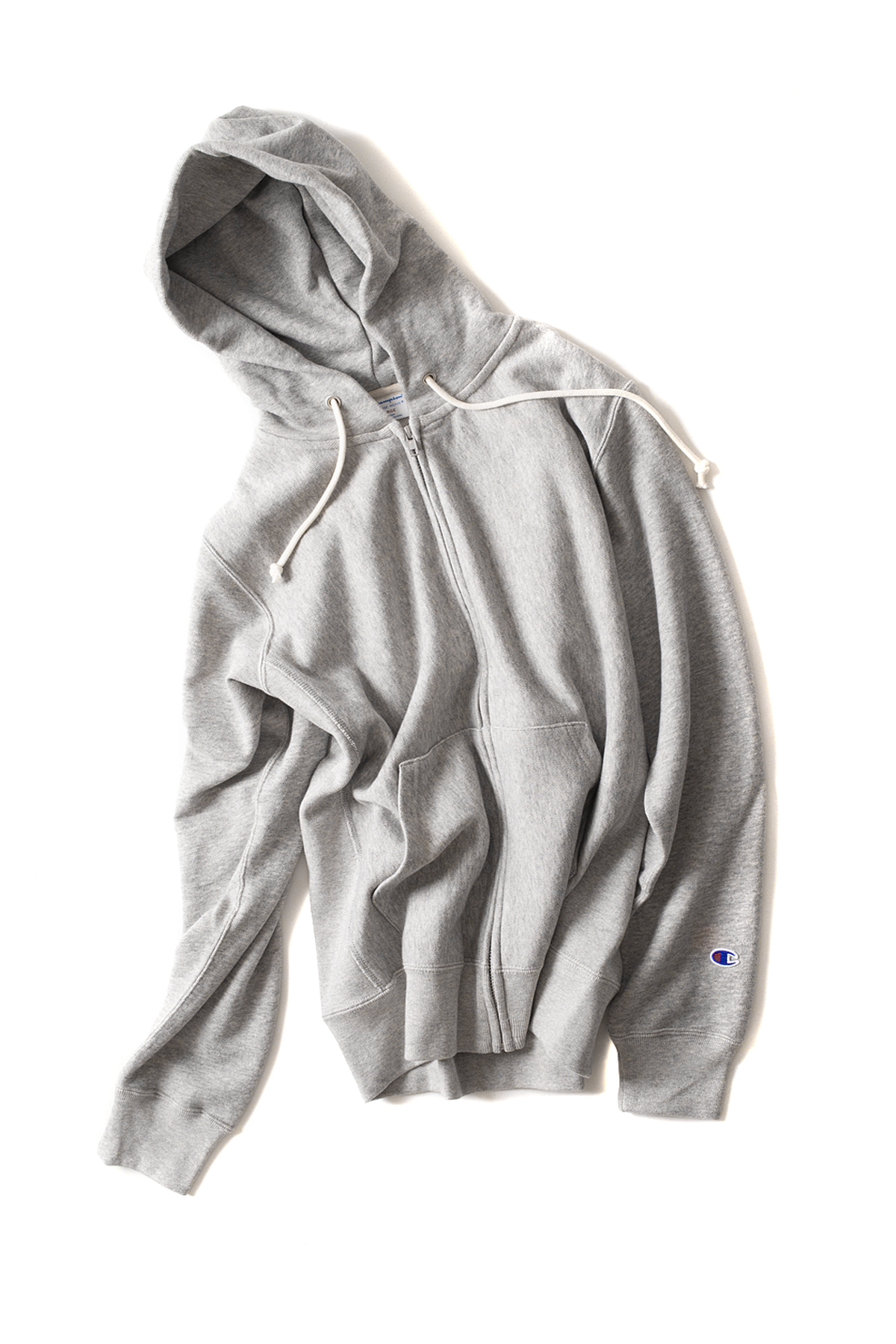 Champion : Reverse Weave Zips Wet Parker (Grey)