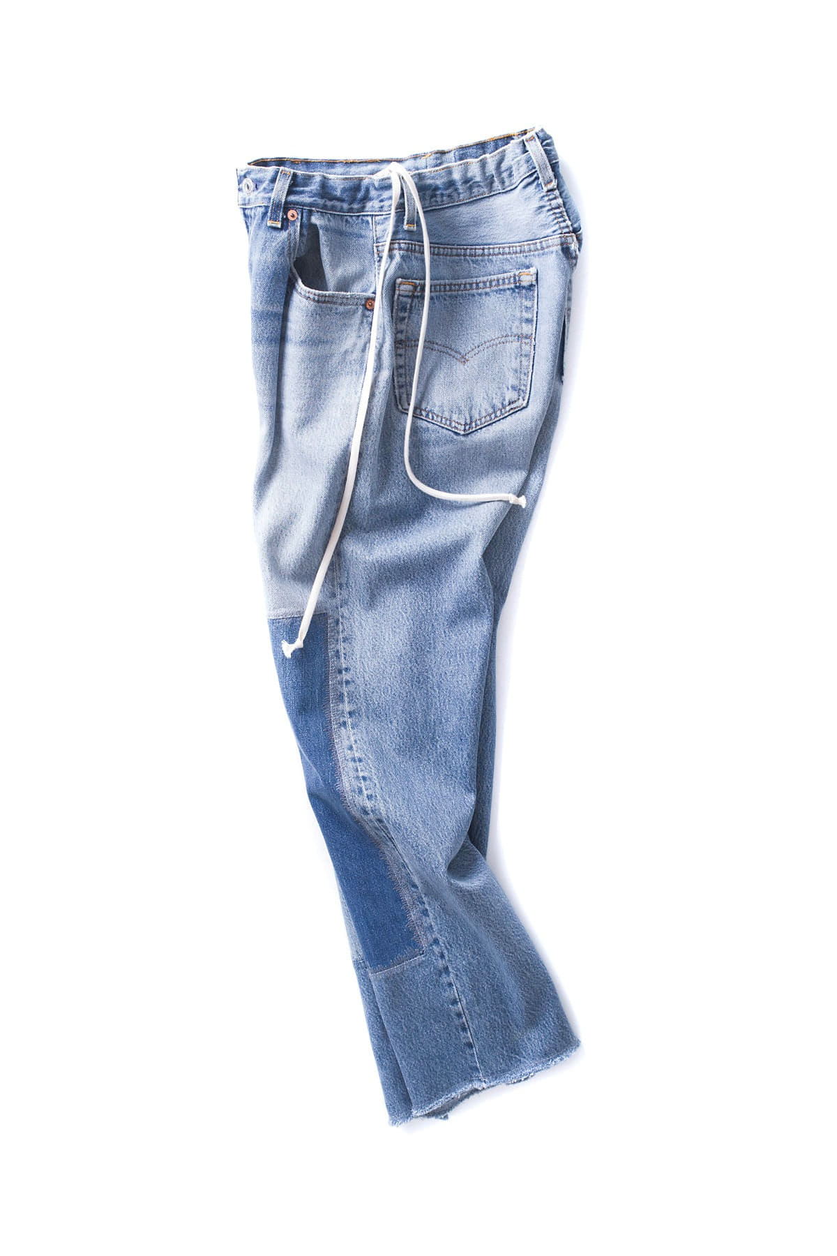 HEXICO : 1 Pleat Denim (L.Indigo)