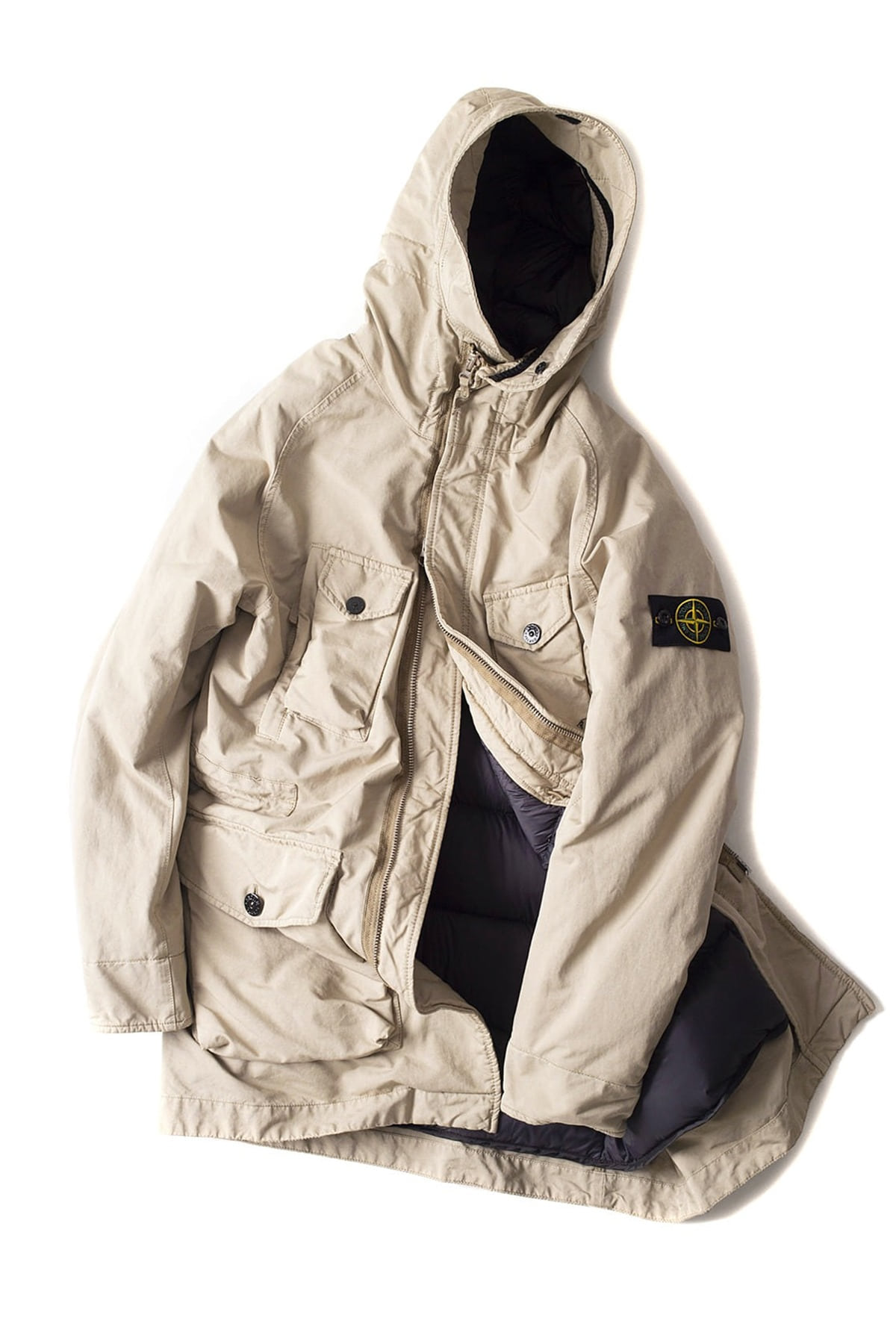 Stone Island : David TC Down (Beige)