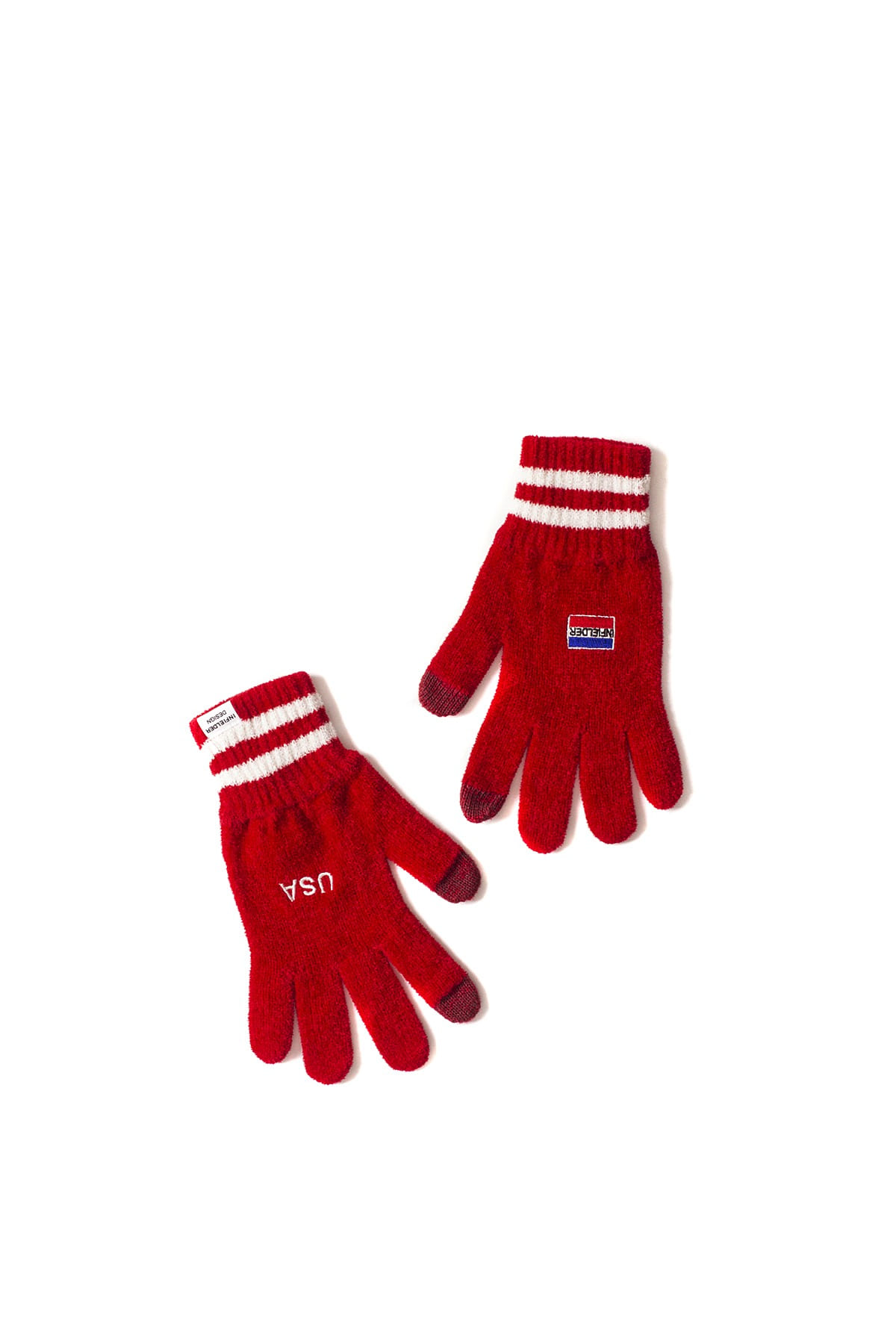 Infielder Design : USA Gloves (Red)