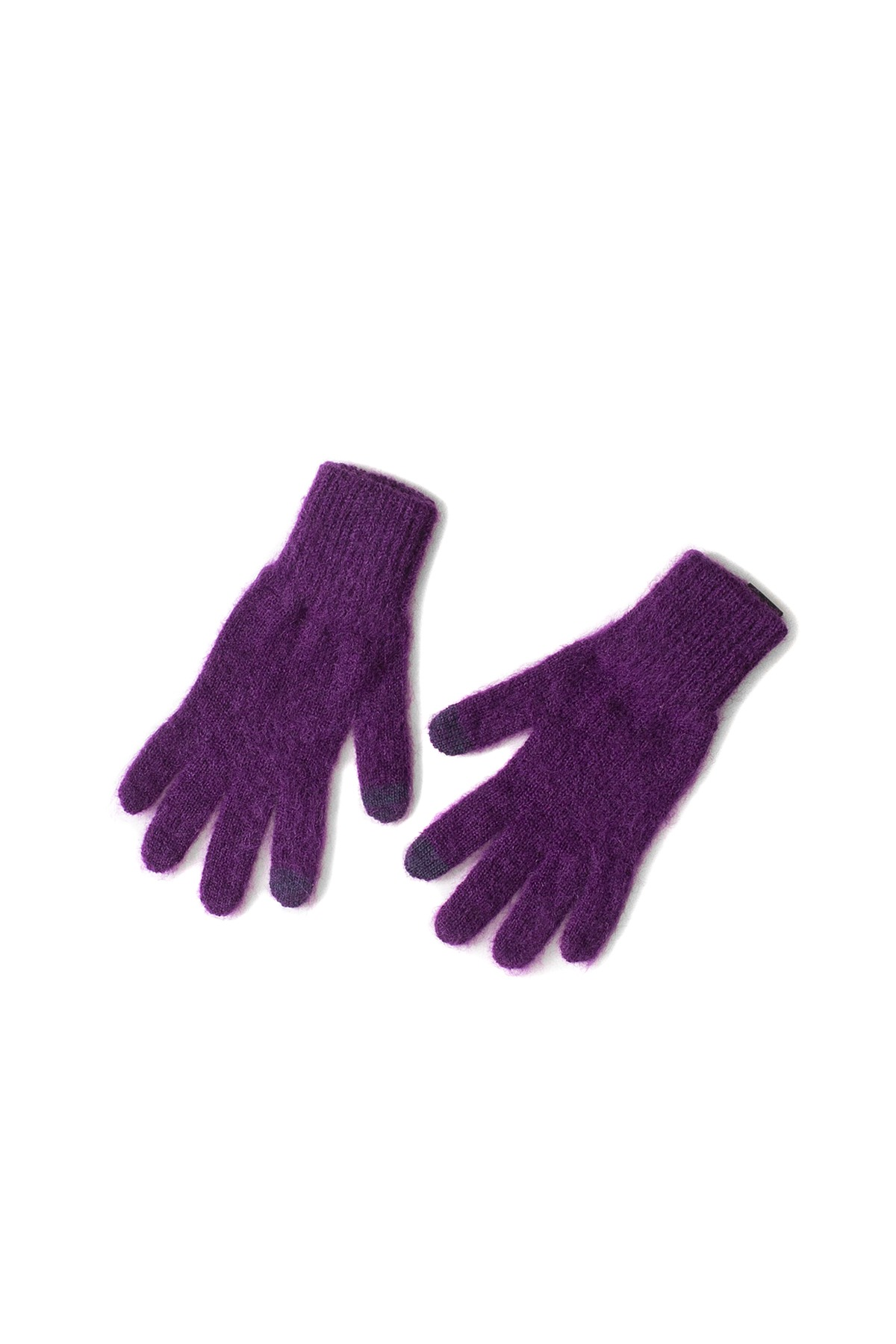 Infielder Design : Mohair Gloves (Purple)